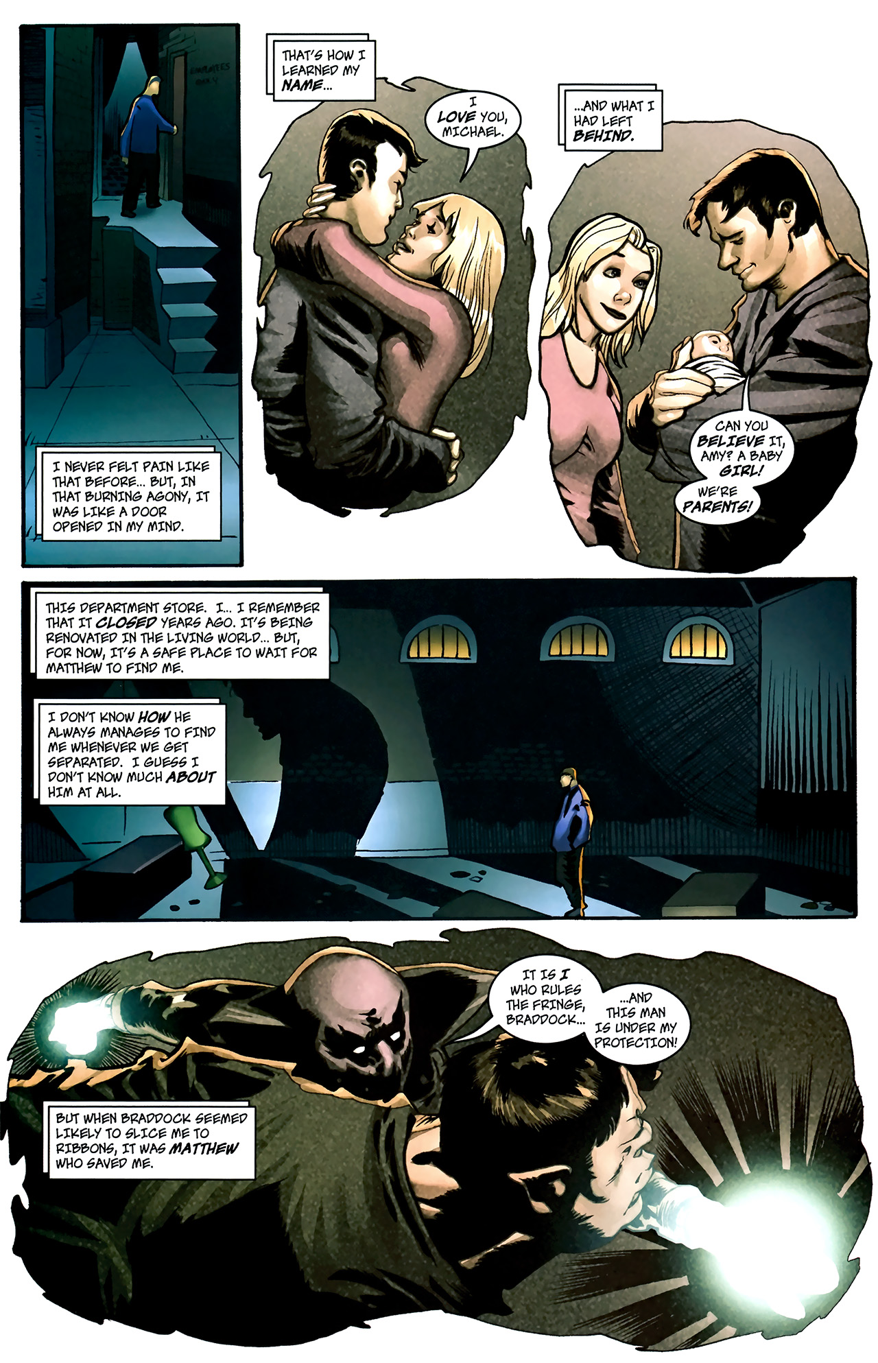 Read online The Grim Ghost comic -  Issue #1 - 12