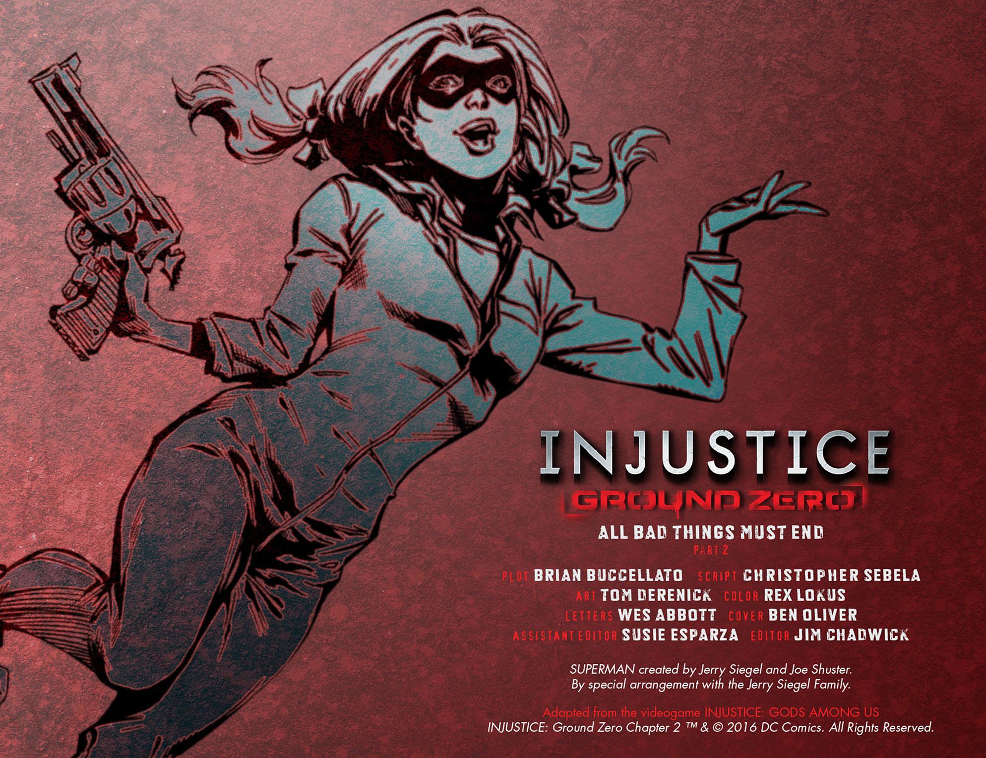 Read online Injustice: Ground Zero comic -  Issue #2 - 3