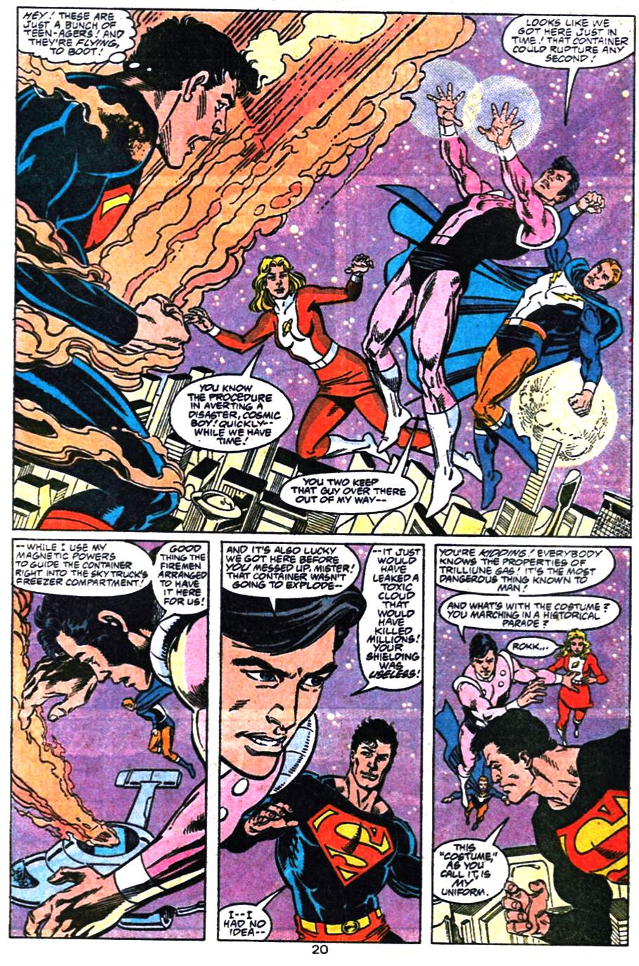Read online Adventures of Superman (1987) comic -  Issue #476 - 21