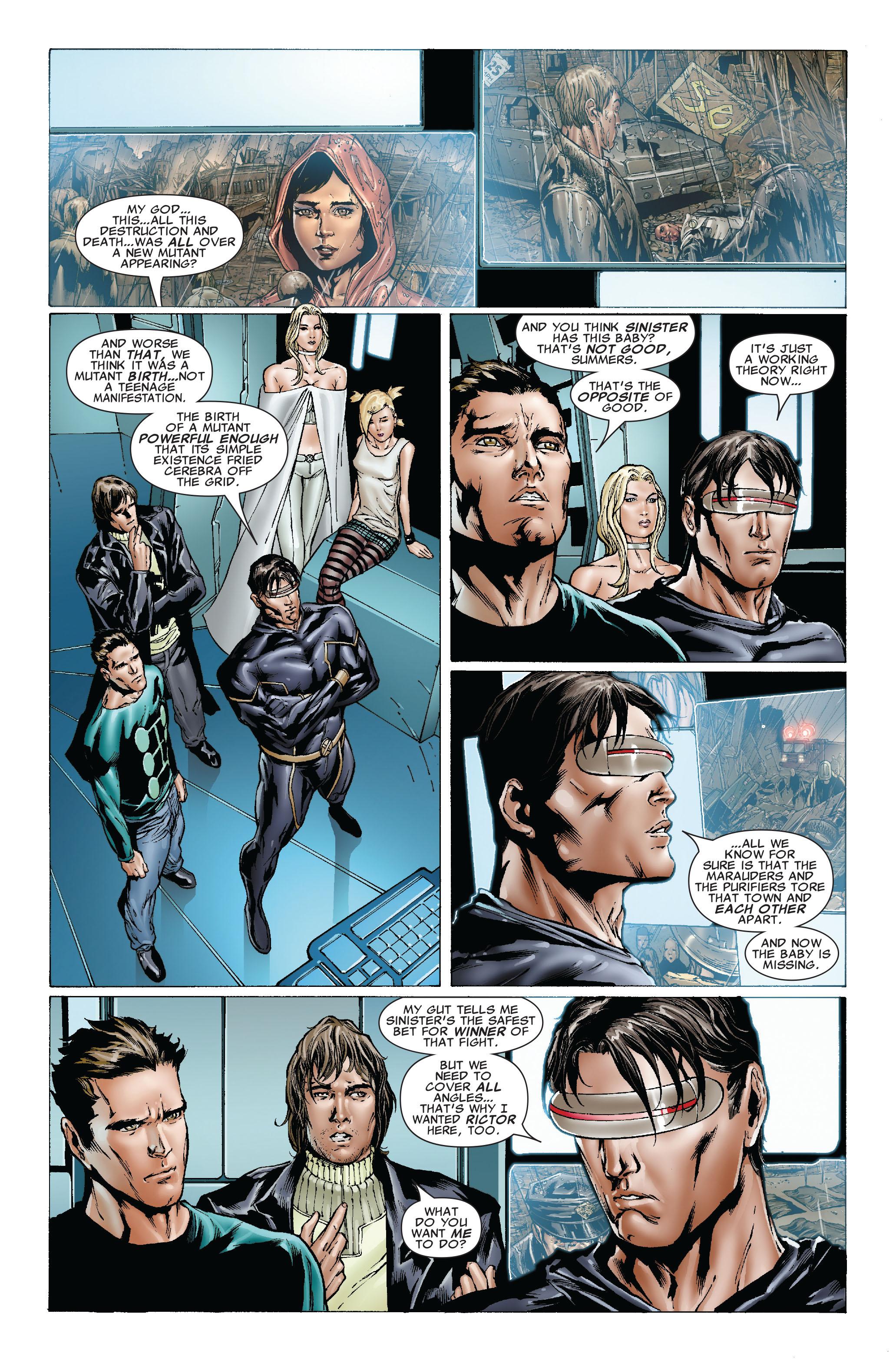 Read online Uncanny X-Men (1963) comic -  Issue #492 - 15