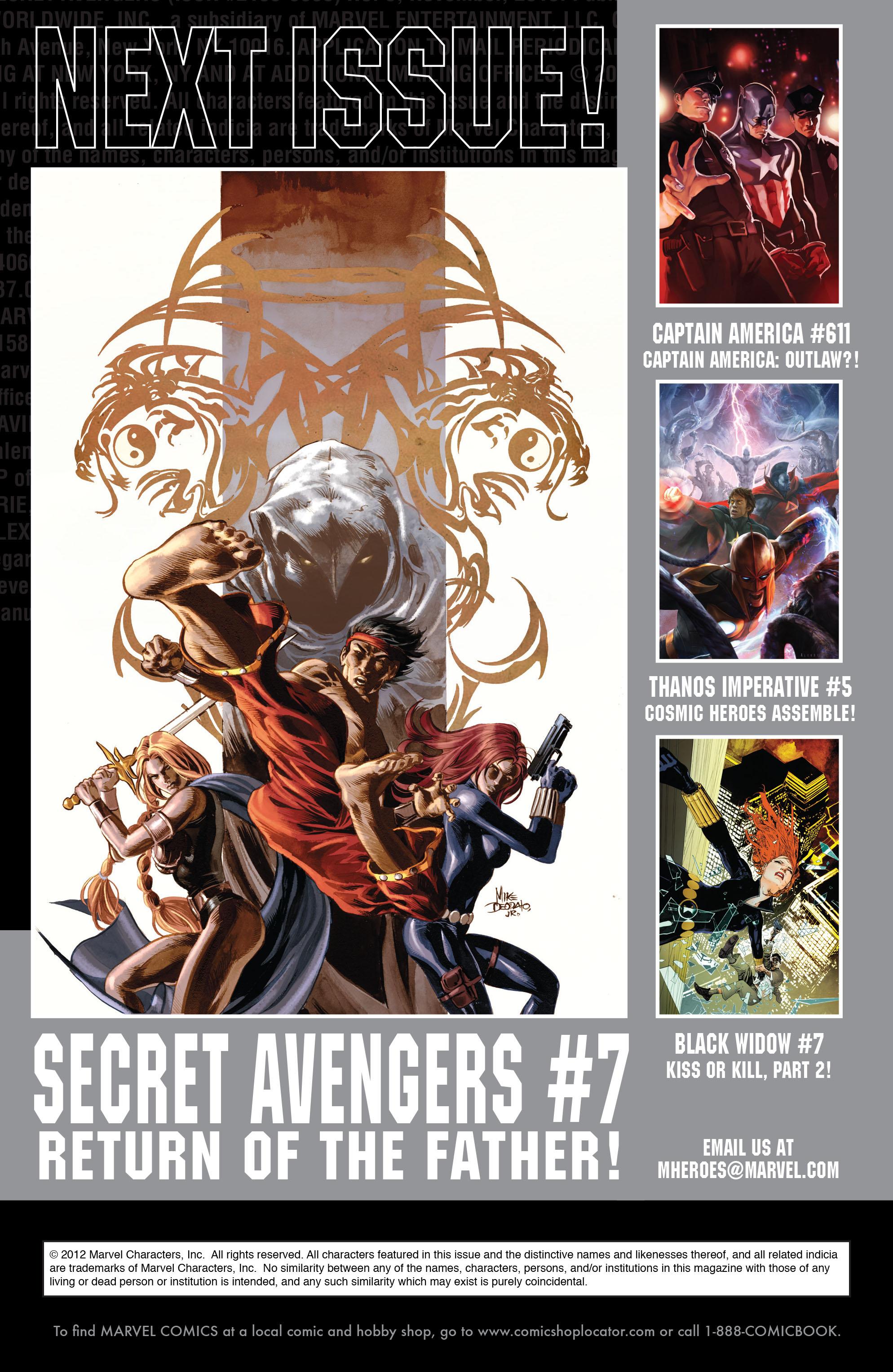 Read online Secret Avengers (2010) comic -  Issue #6 - 25
