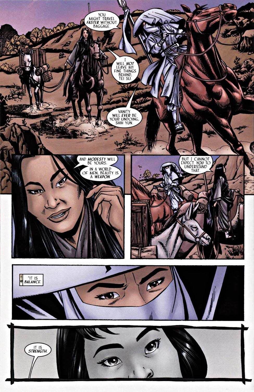 Read online Silken Ghost comic -  Issue #2 - 8