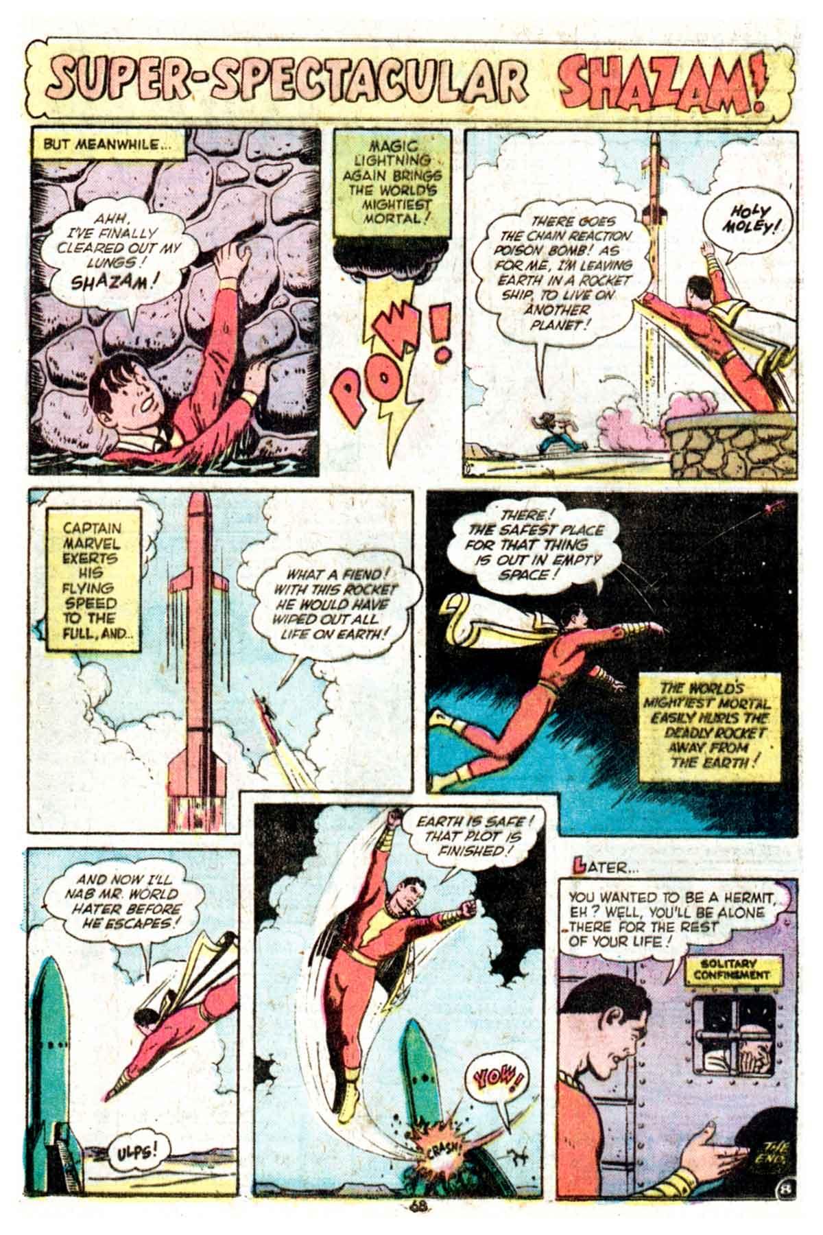Read online Shazam! (1973) comic -  Issue #16 - 68