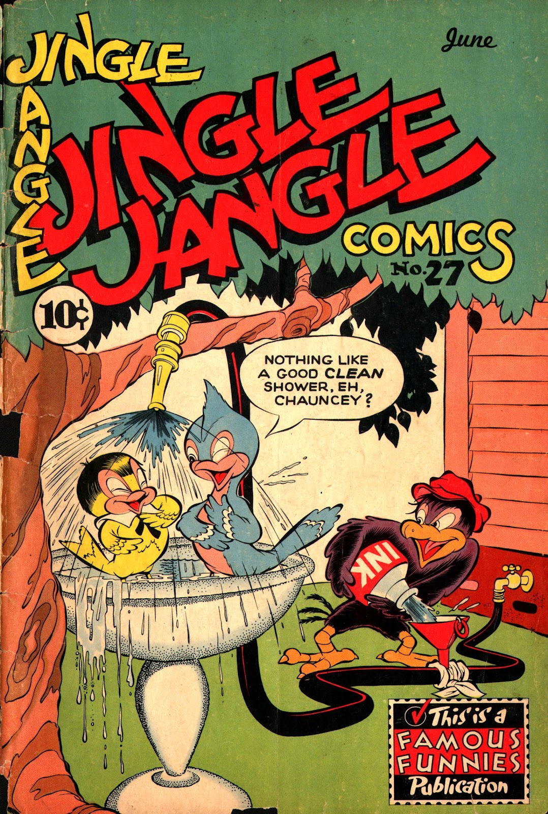 Jingle Jangle Comics 27 Page 1