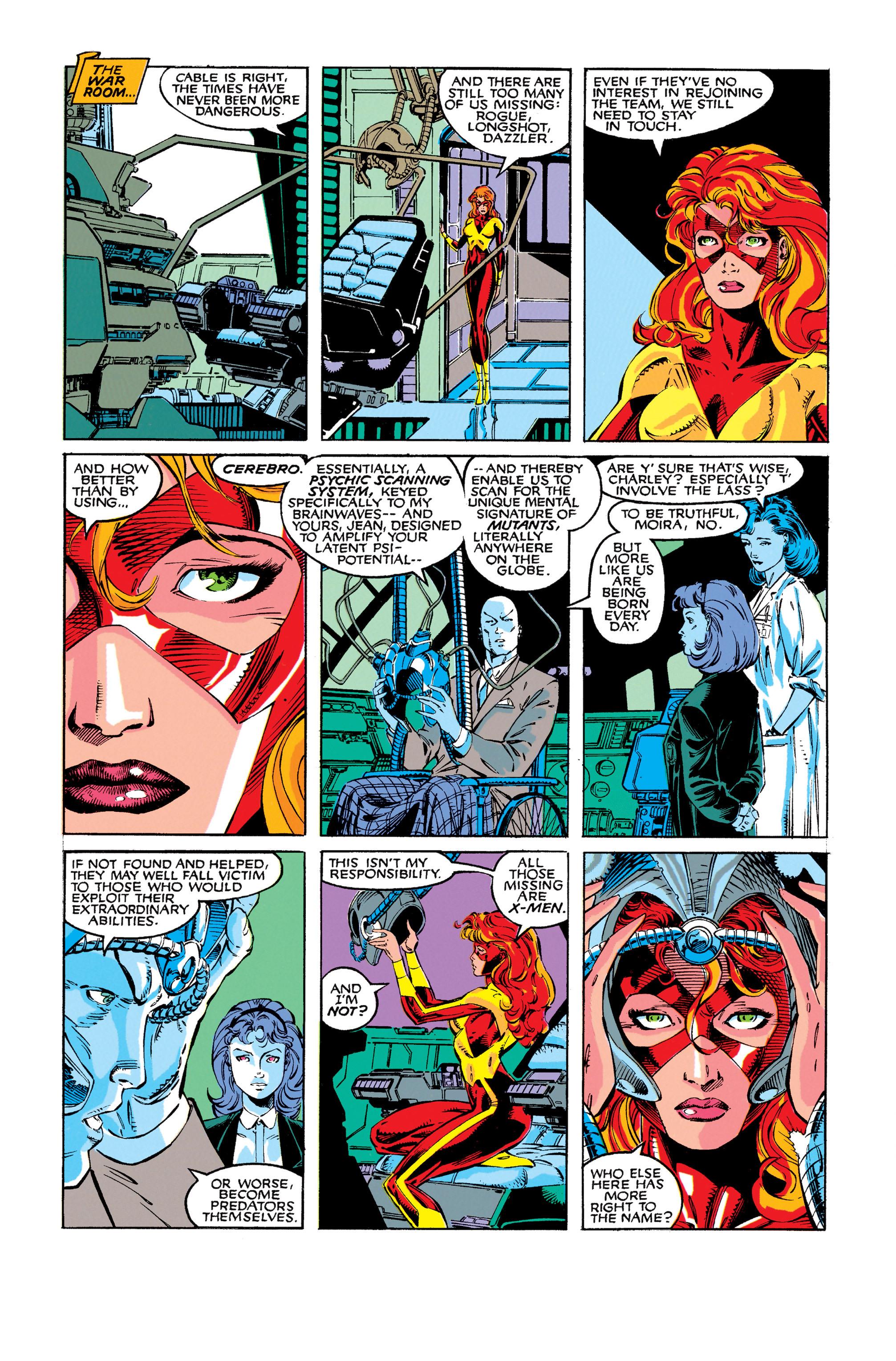 Read online Uncanny X-Men (1963) comic -  Issue #273 - 19
