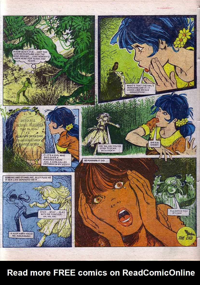 Read online Misty comic -  Issue #69 - 17