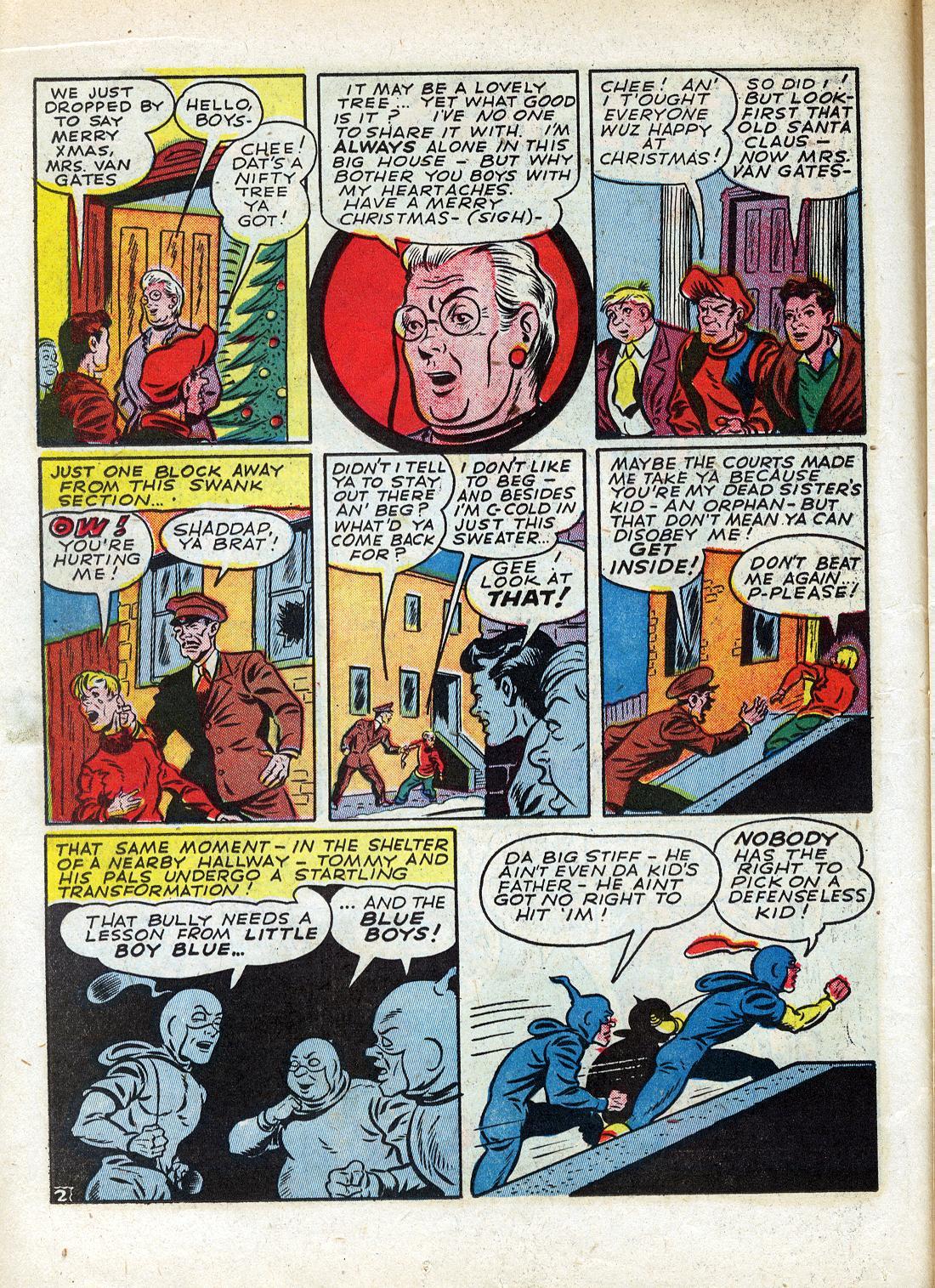 Read online Sensation (Mystery) Comics comic -  Issue #26 - 26