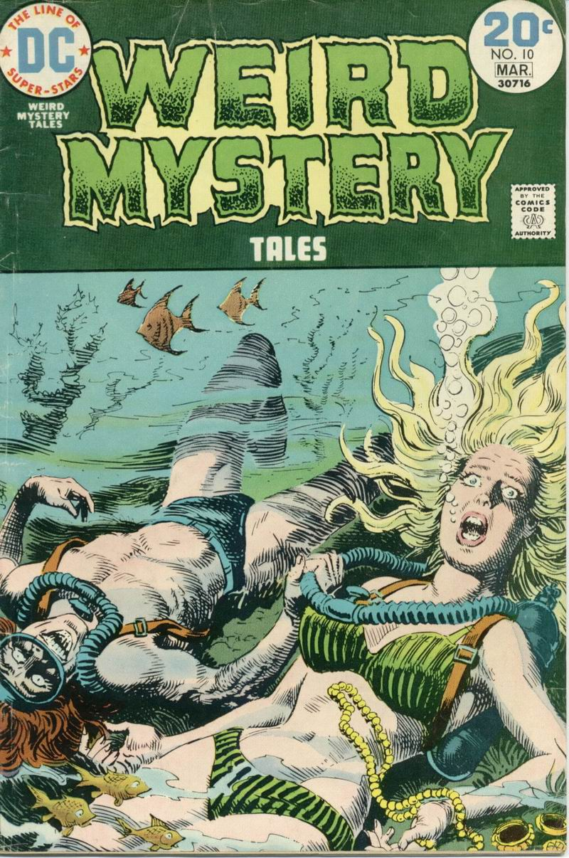 Weird Mystery Tales issue 10 - Page 1