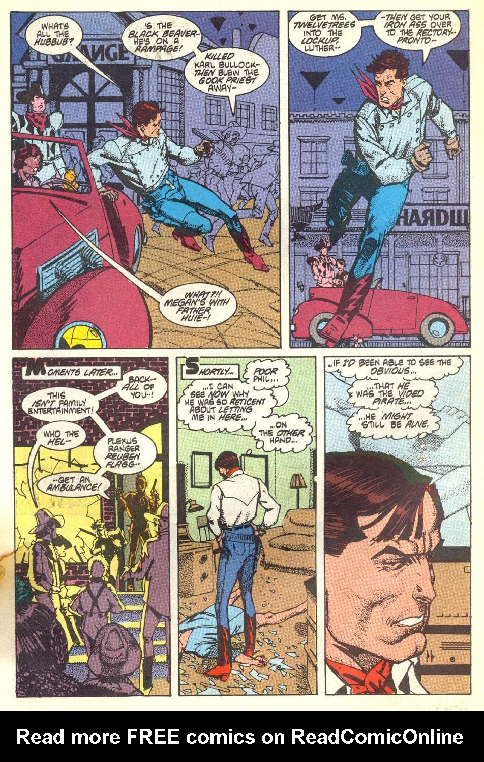 Read online American Flagg! comic -  Issue #17 - 10