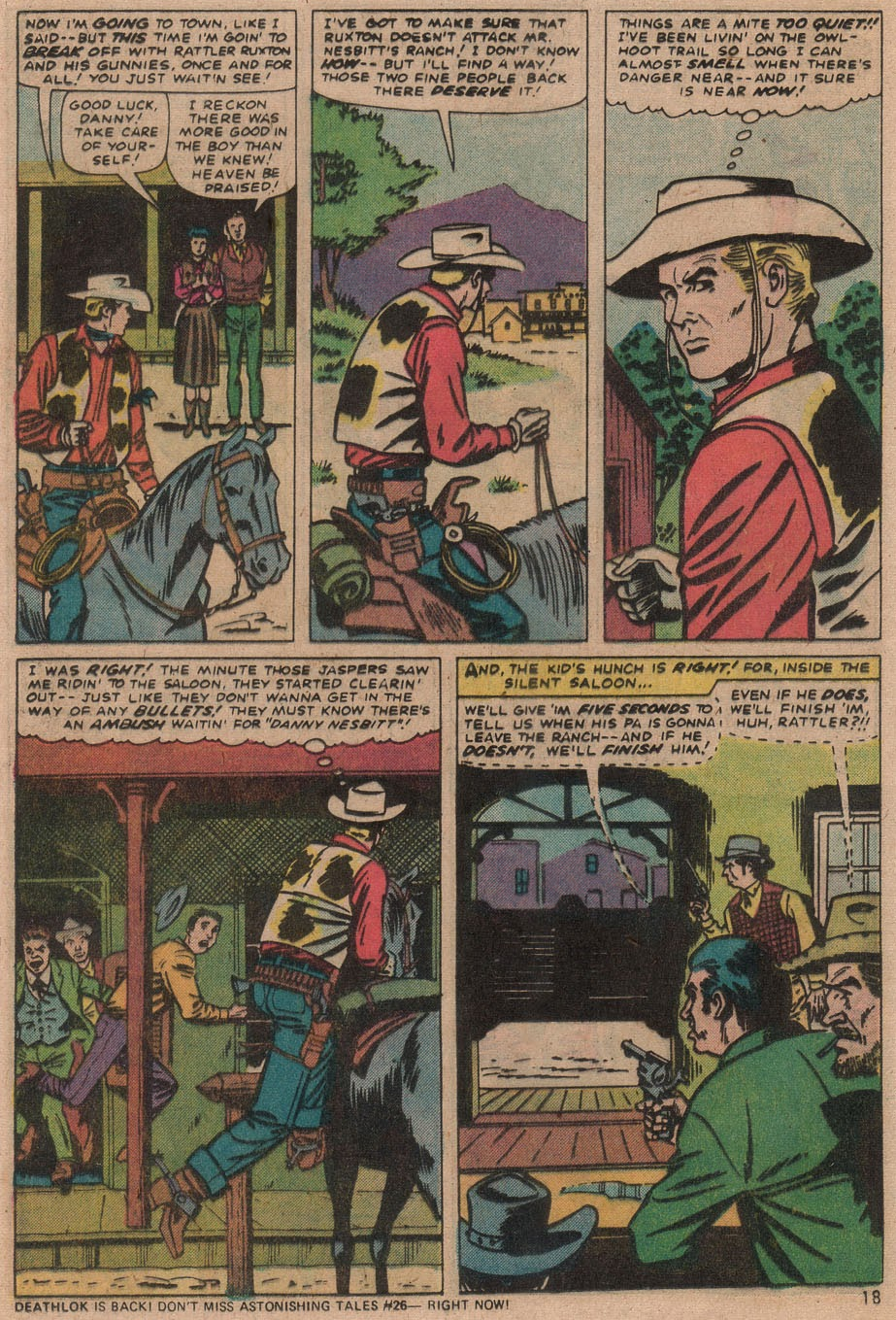 Kid Colt Outlaw issue 187 - Page 19