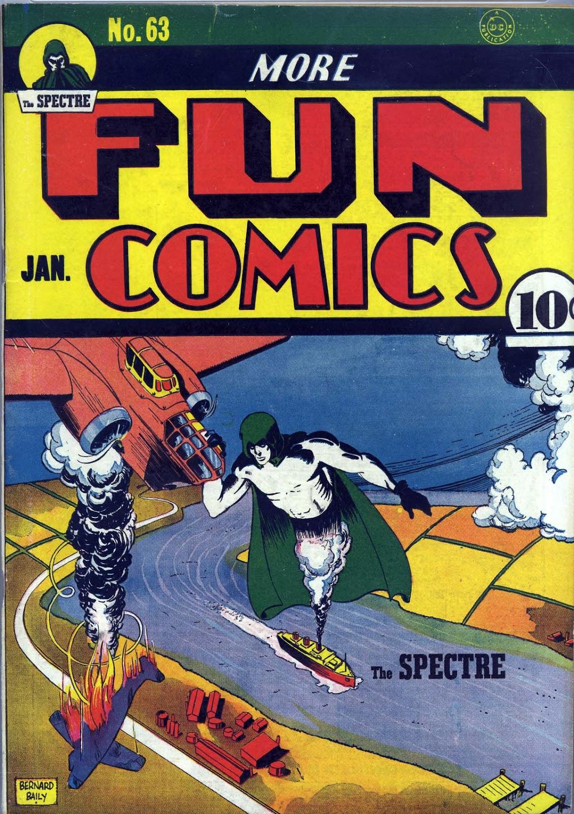 More Fun Comics 63 Page 1
