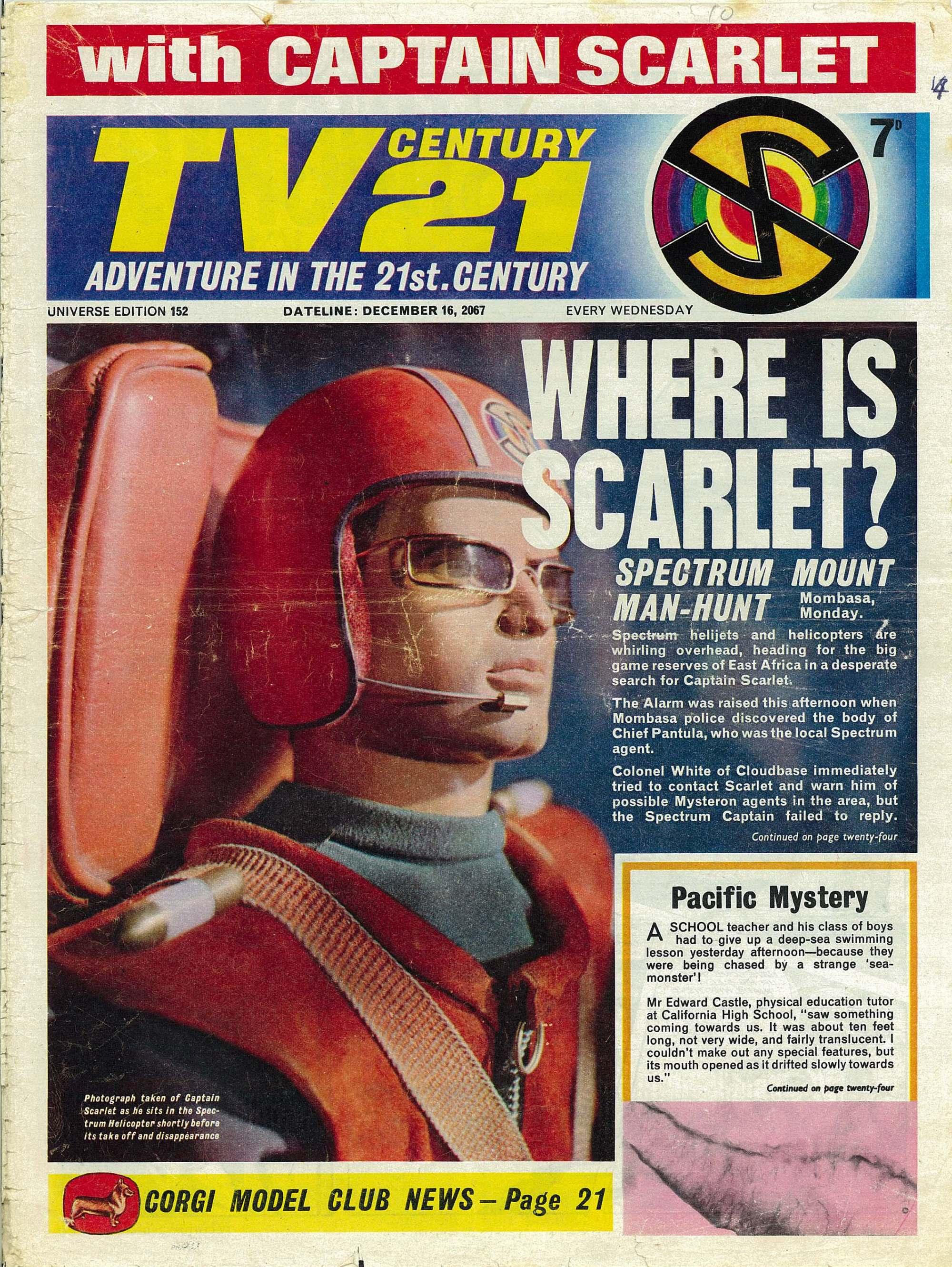TV Century 21 (TV 21) 152 Page 1