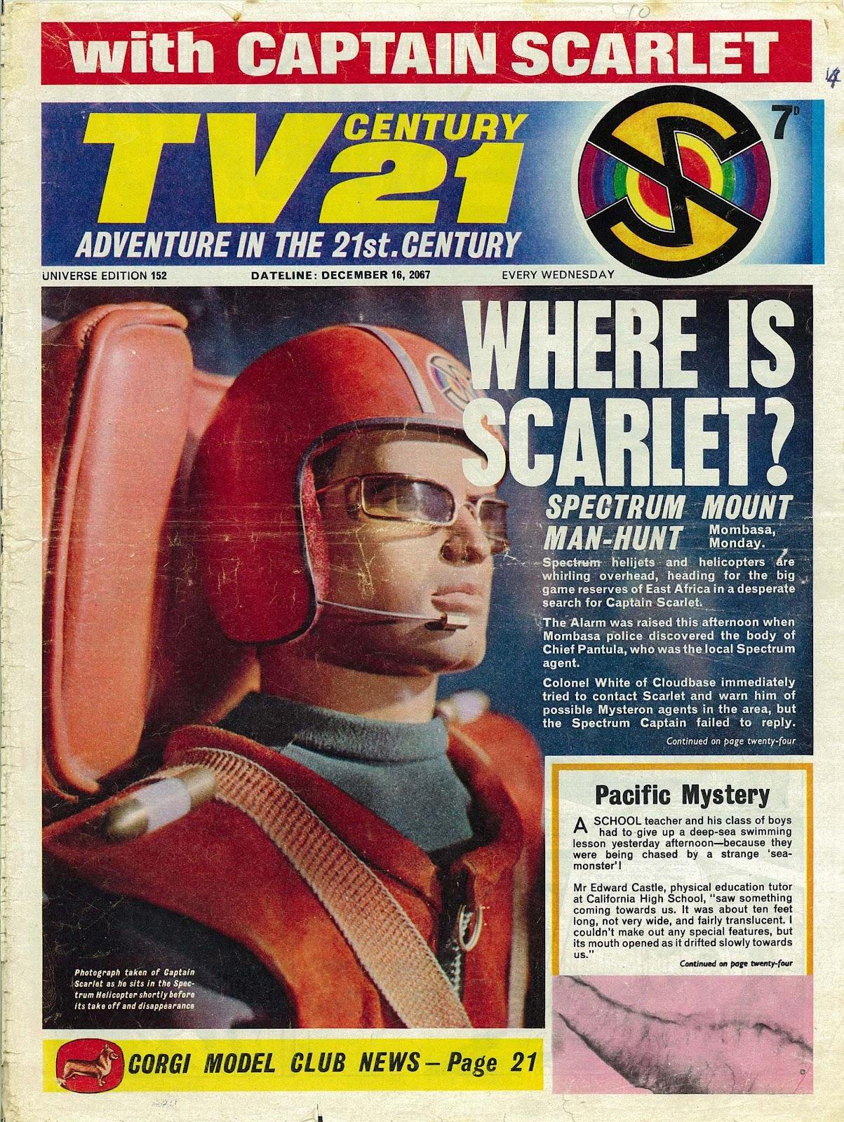 TV Century 21 (TV 21) issue 152 - Page 1