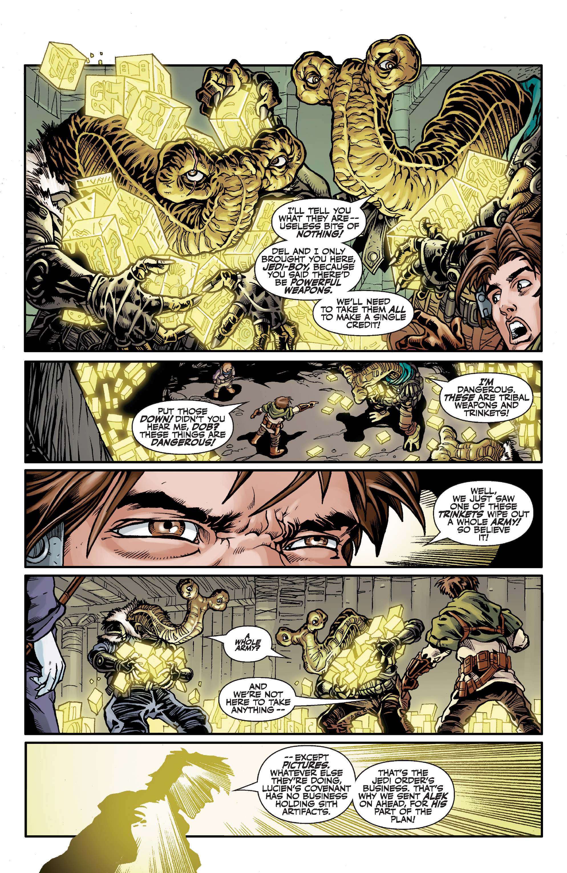 Read online Star Wars Omnibus comic -  Issue # Vol. 32 - 246