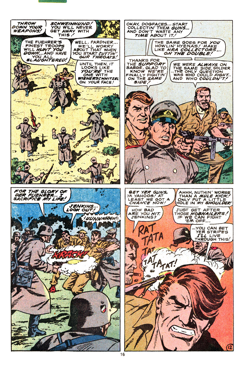 Read online Sgt. Fury comic -  Issue #164 - 18