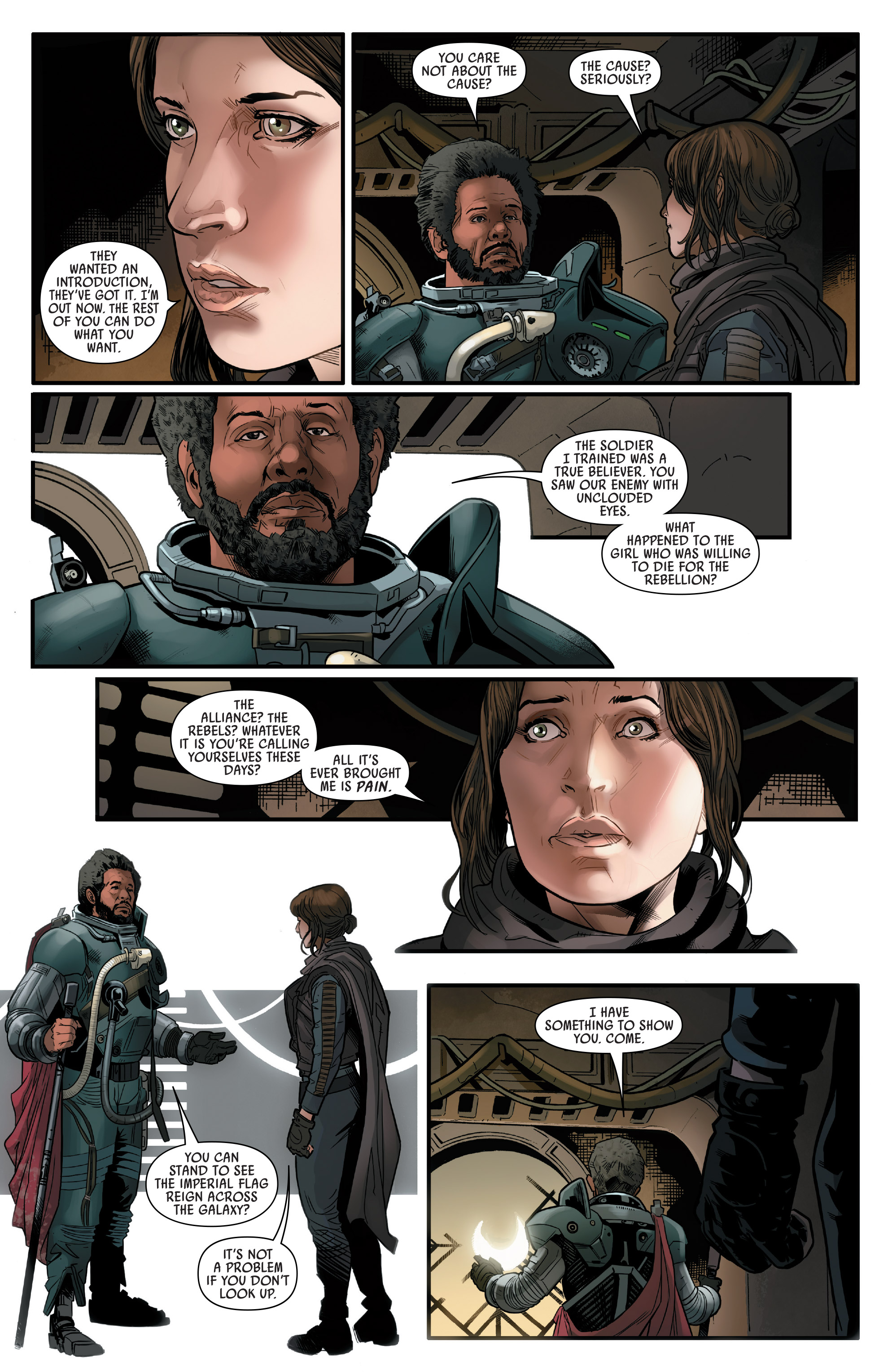 Read online Star Wars: Rogue One Adaptation comic -  Issue #2 - 18