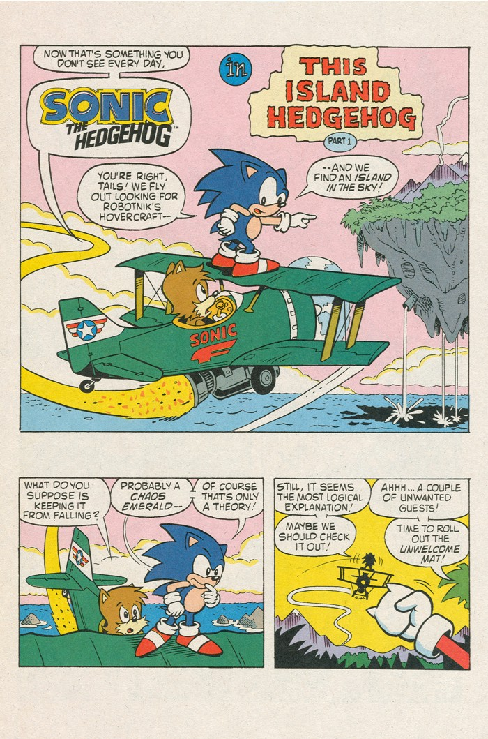 Read online Sonic Super Special comic -  Issue #3 - Sonic Firsts - 37