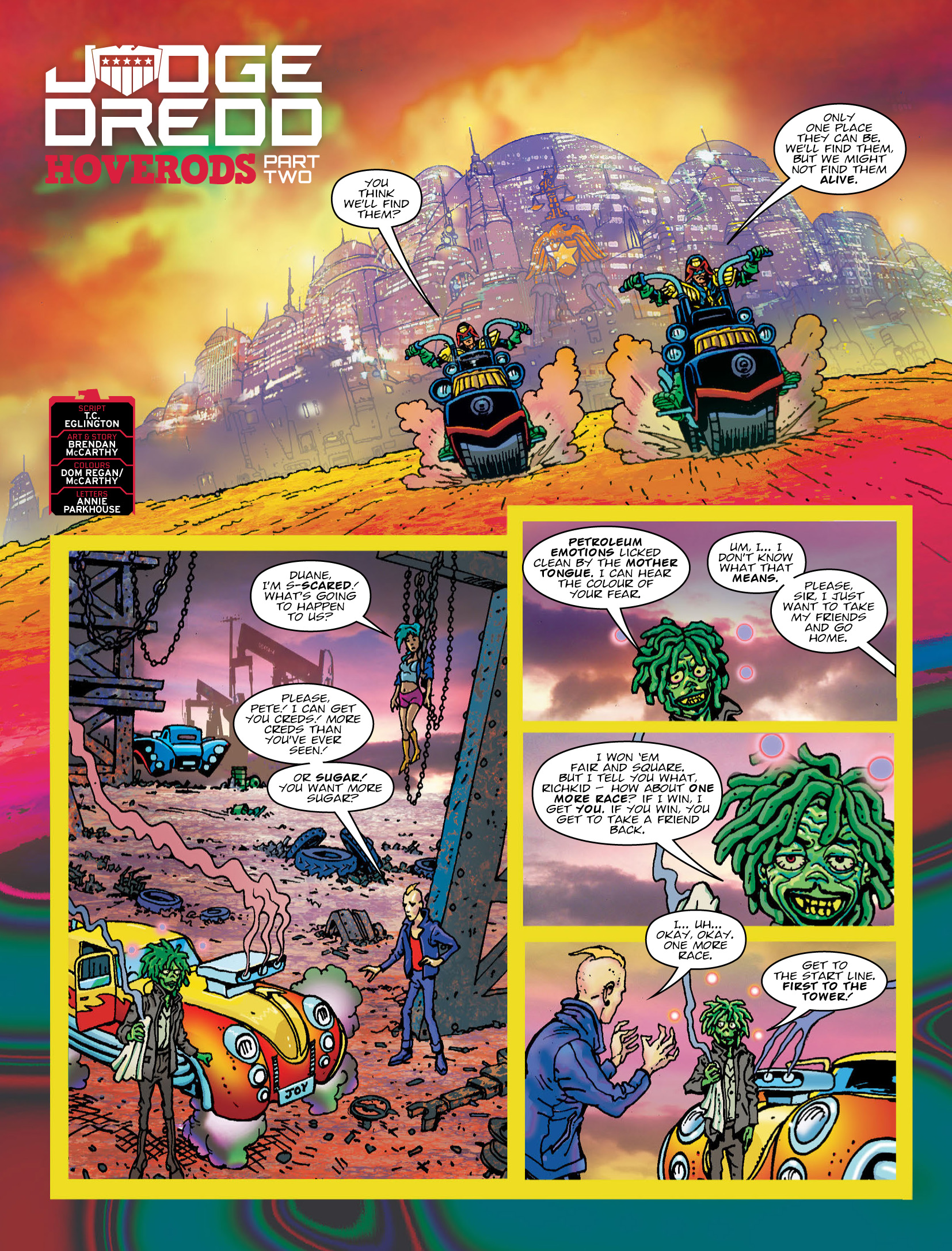 Read online 2000 AD comic -  Issue #2034 - 3