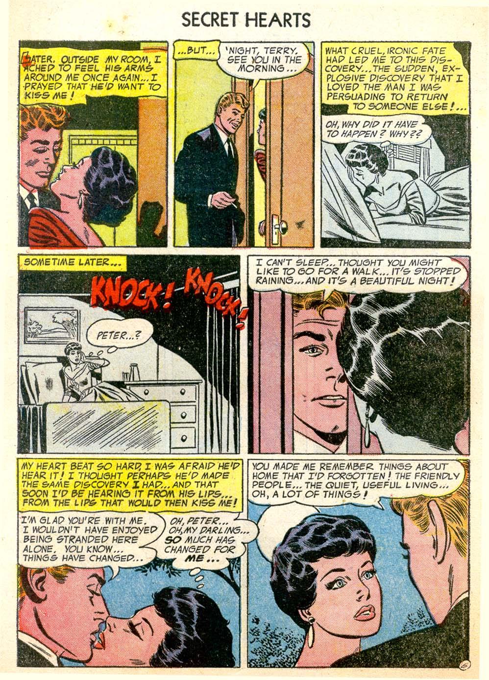 Read online Secret Hearts comic -  Issue #26 - 8