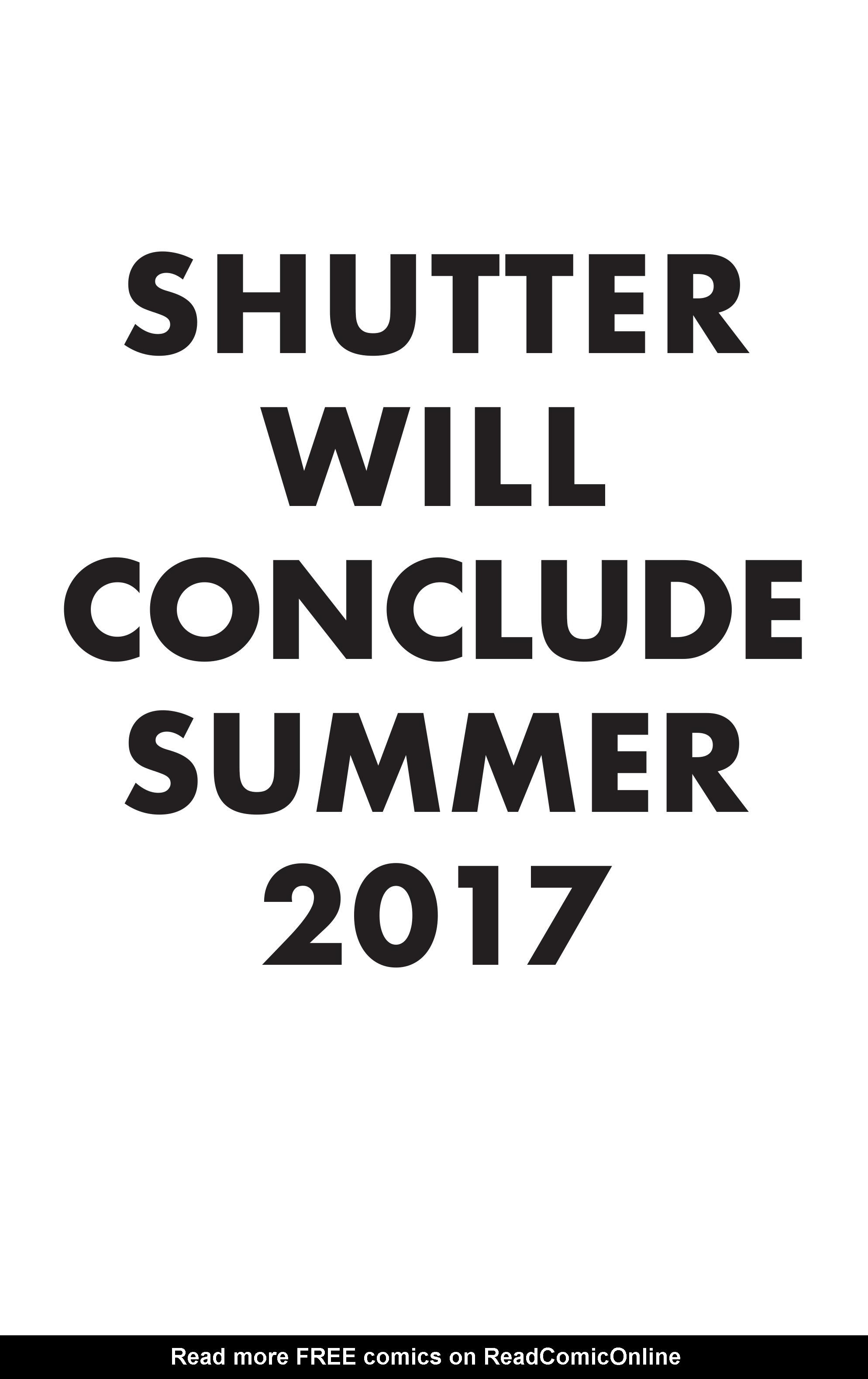 Read online Shutter comic -  Issue #28 - 26