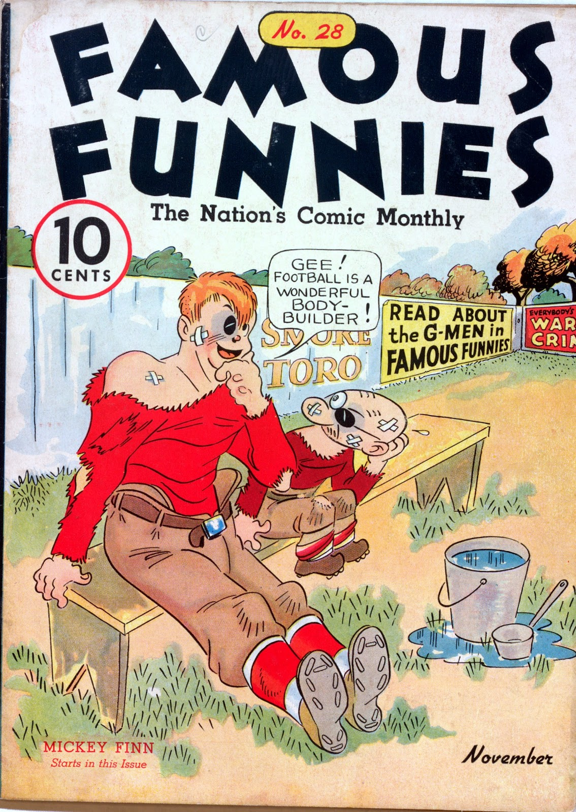 Read online Famous Funnies comic -  Issue #28 - 1
