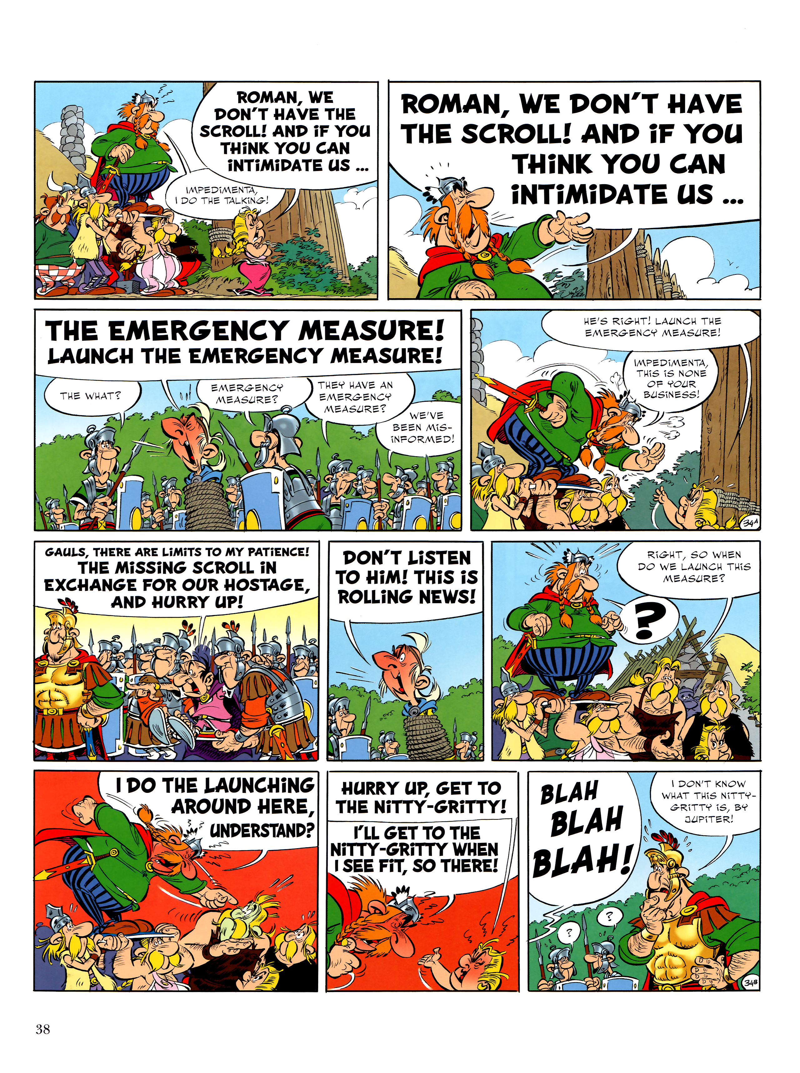 Read online Asterix comic -  Issue #36 - 39