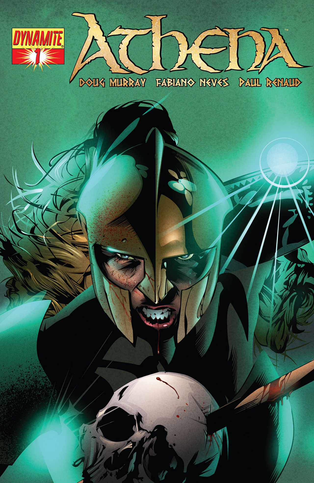 Read online Athena comic -  Issue #1 - 2