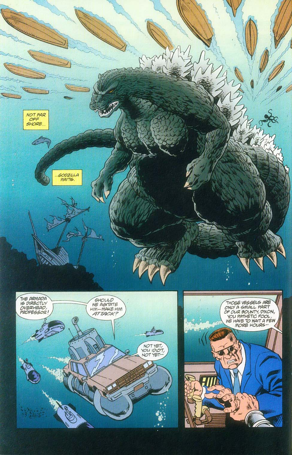 Godzilla (1995) Issue #10 #11 - English 7