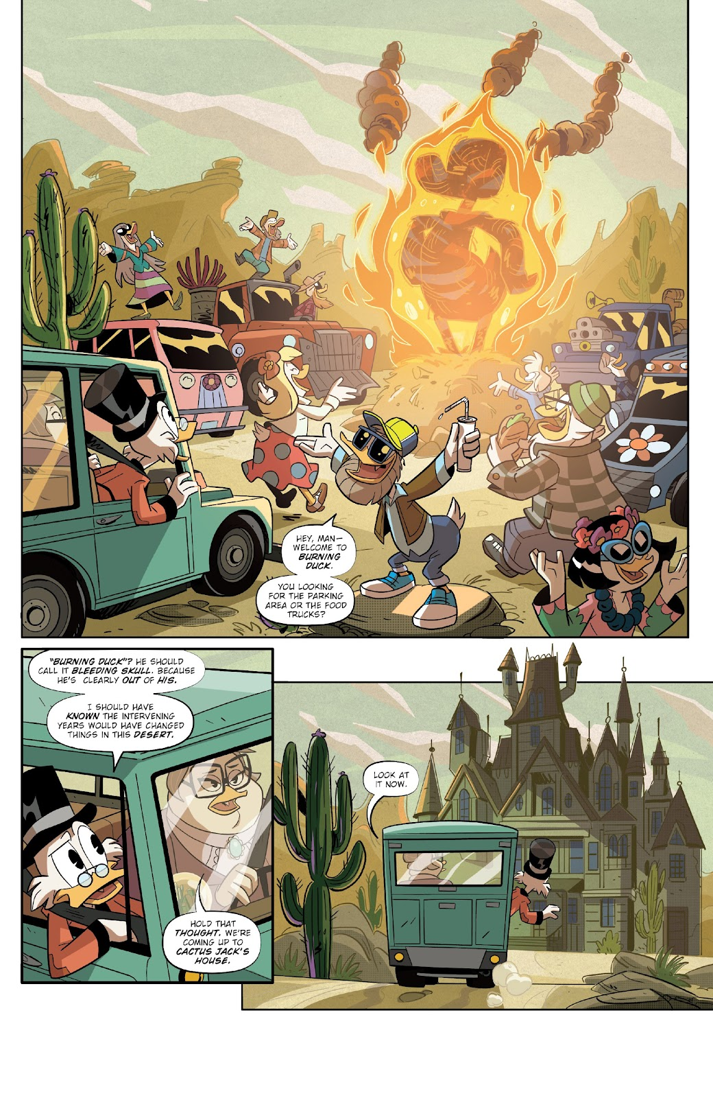 Read online Ducktales (2017) comic -  Issue #17 - 16