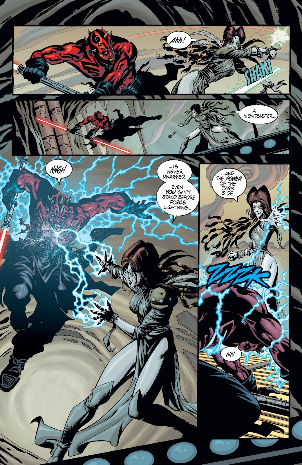 Read online Star Wars Legends: Rise of the Sith - Epic Collection comic -  Issue # TPB 2 (Part 3) - 21