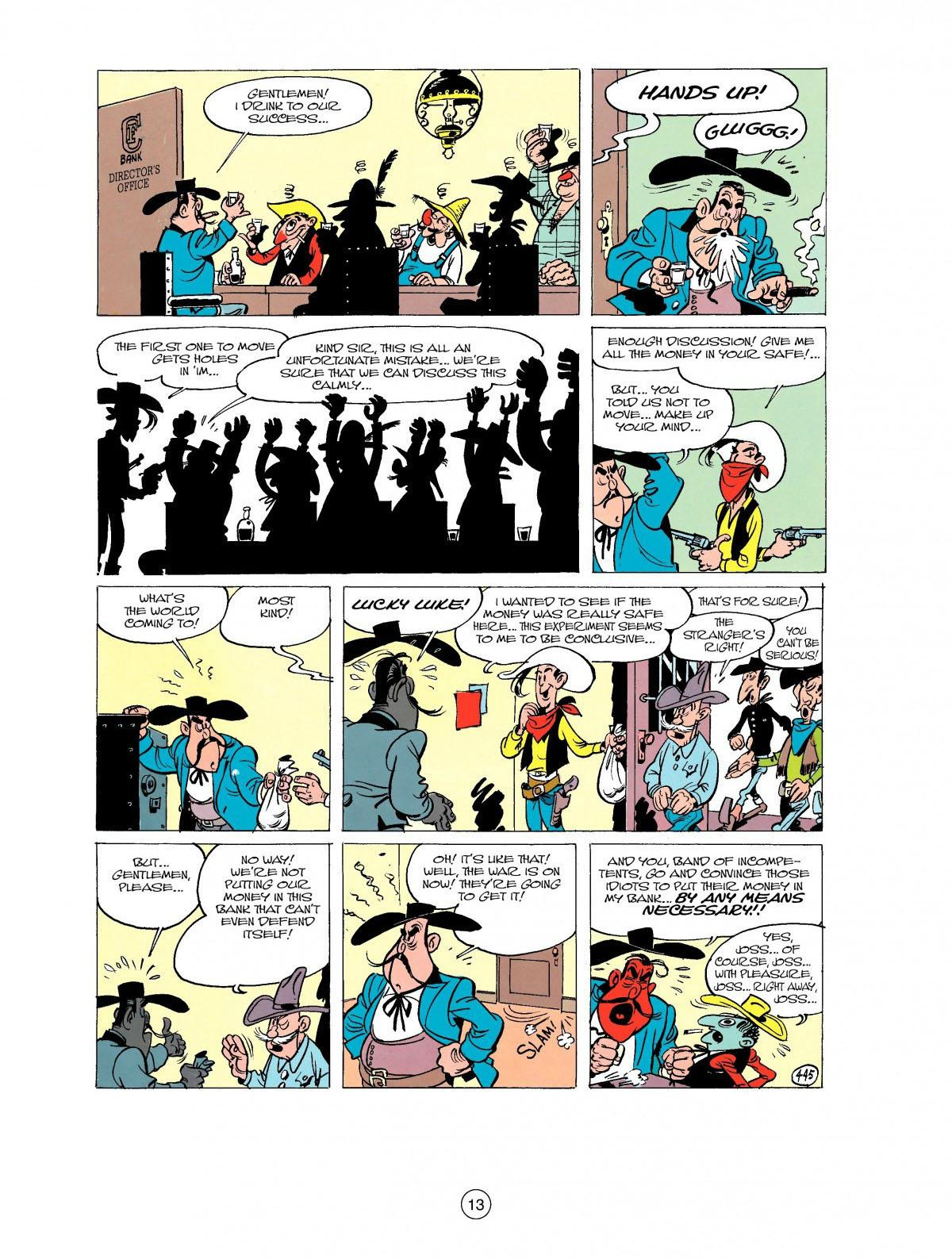 Read online A Lucky Luke Adventure comic -  Issue #27 - 14