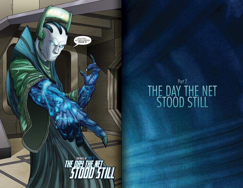 Read online ReBoot: Paradigms Lost comic -  Issue # Full - 13