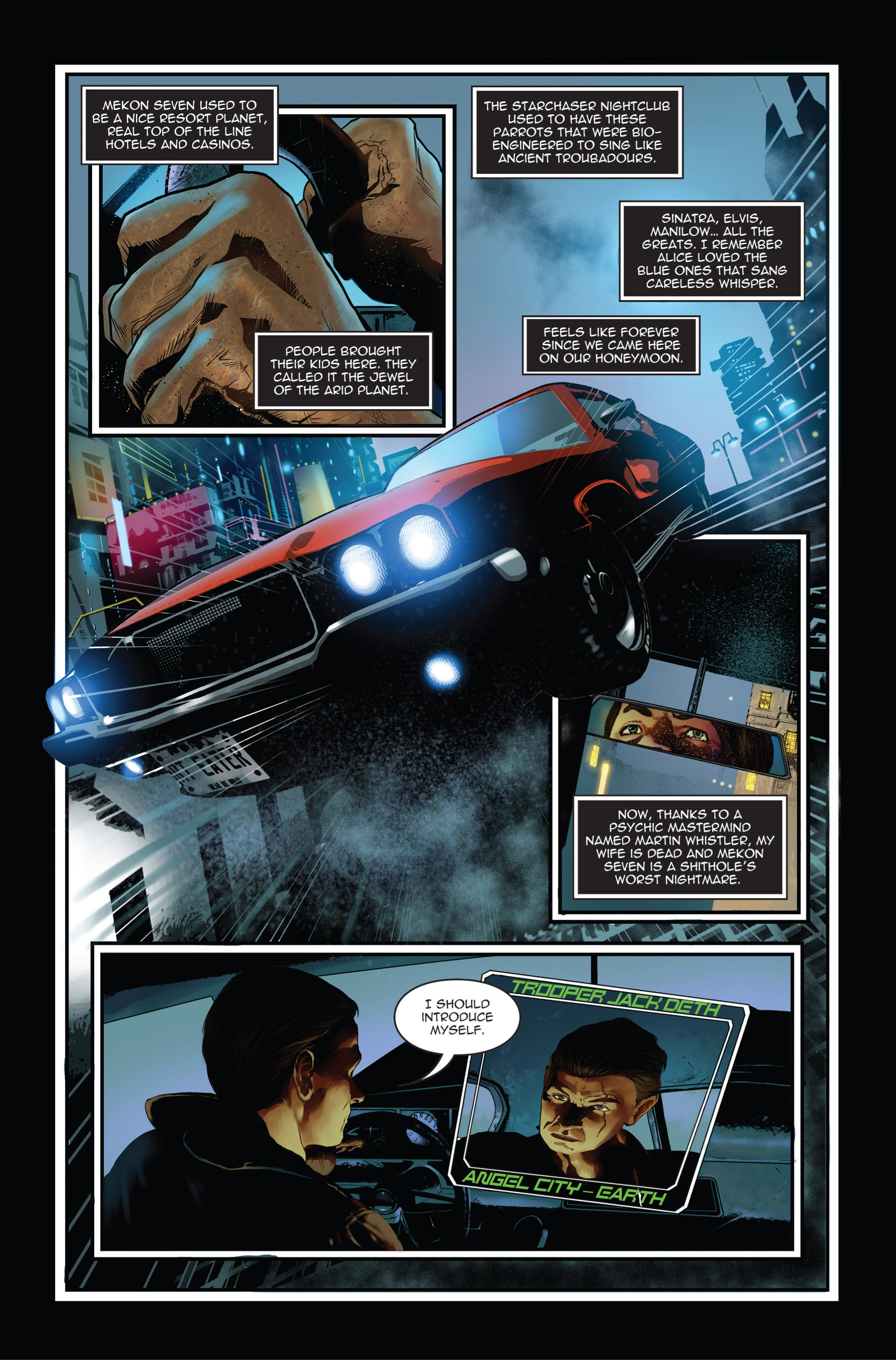 Read online Trancers comic -  Issue #1 - 5