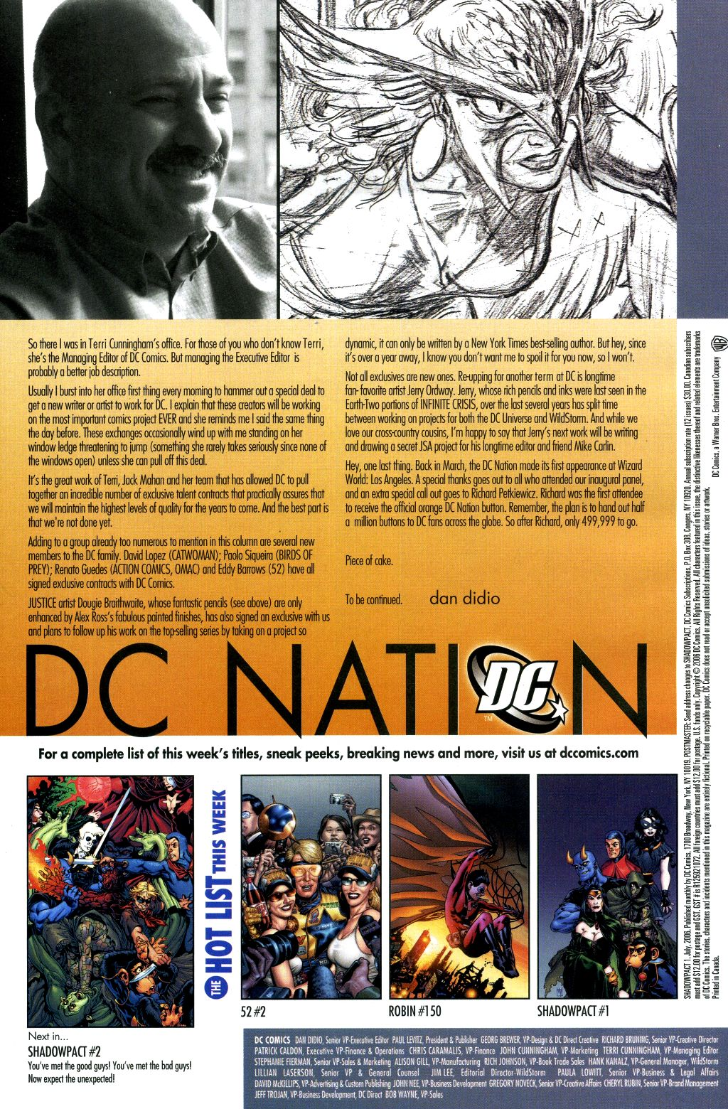 Read online Shadowpact comic -  Issue #1 - 23