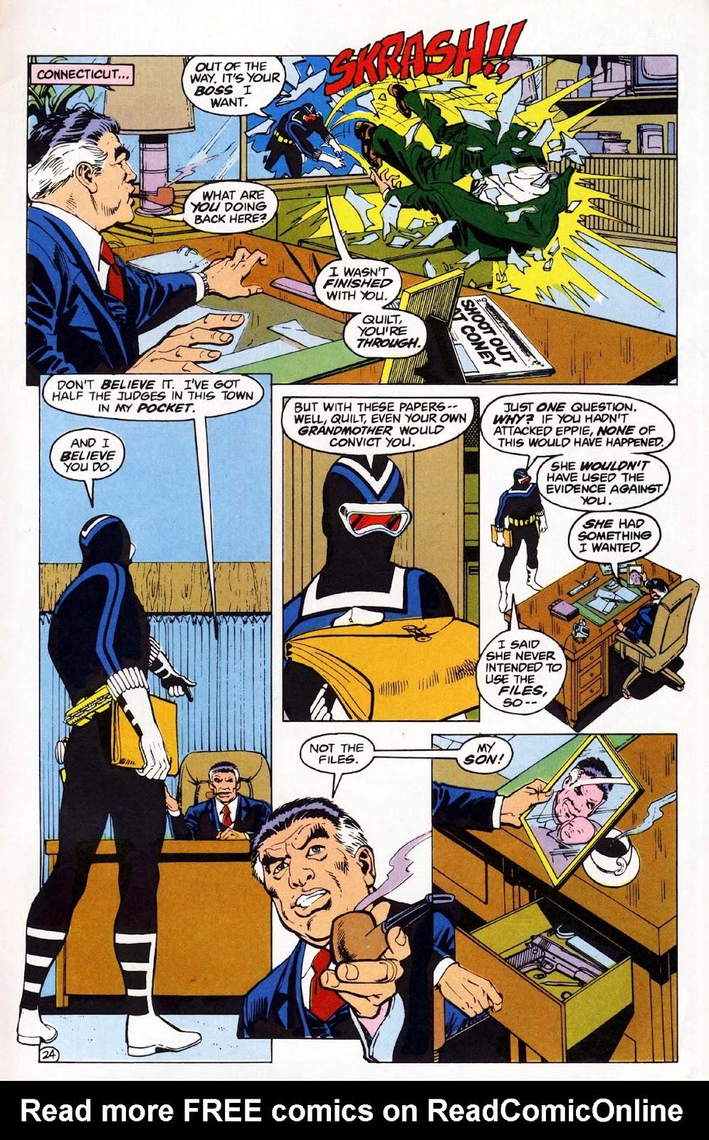 Vigilante (1983) issue 1 - Page 25