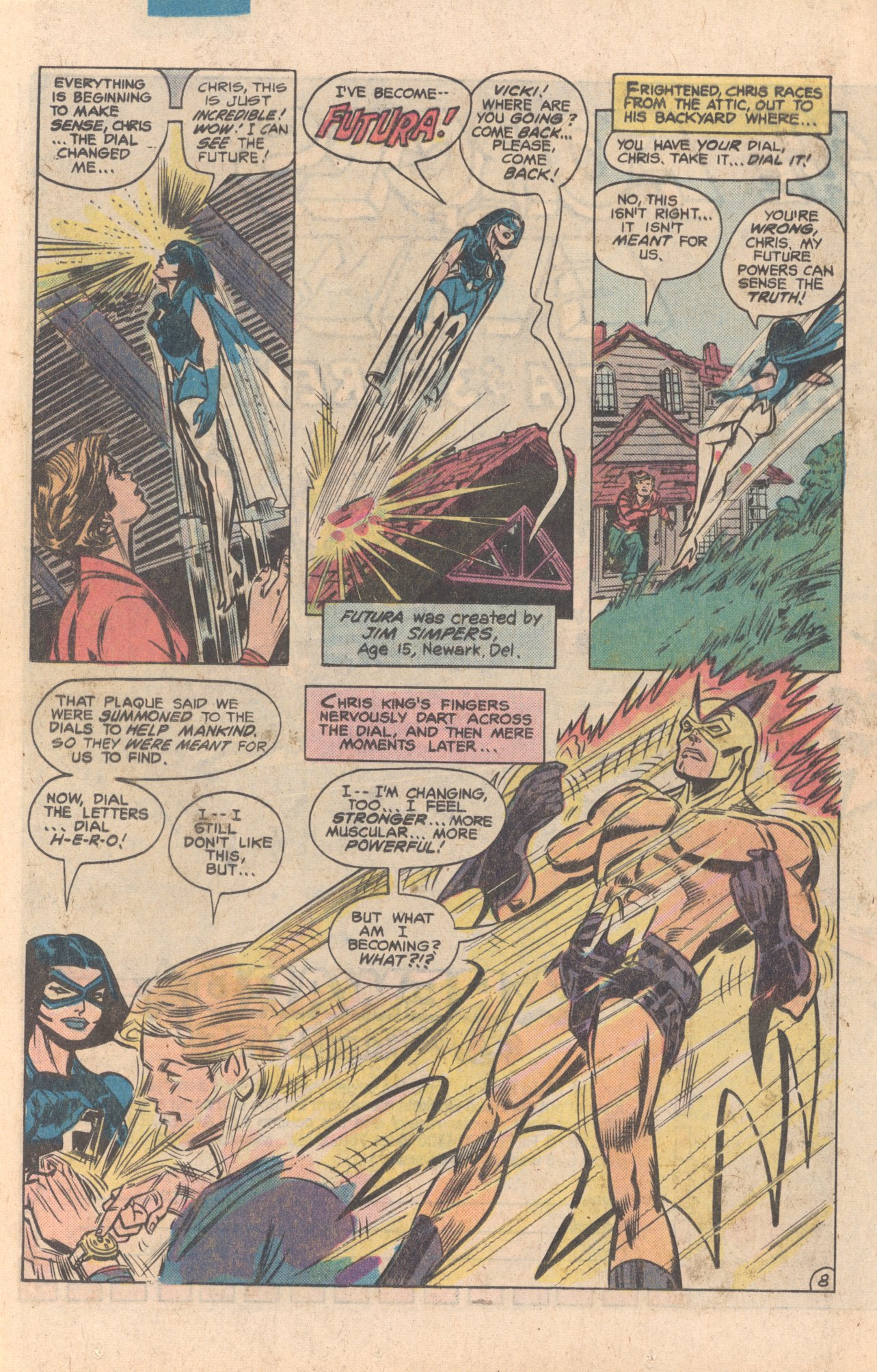 Legion of Super-Heroes (1980) 272 Page 35