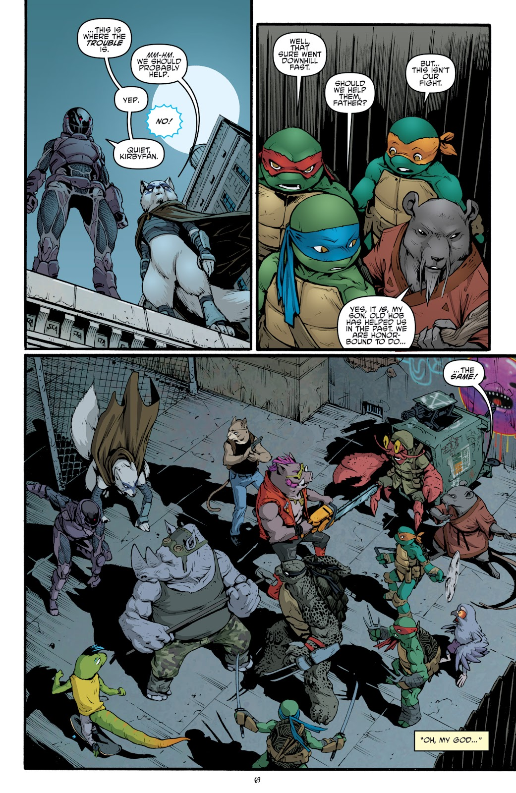 Read online Teenage Mutant Ninja Turtles: The IDW Collection comic -  Issue # TPB 5 (Part 2) - 46