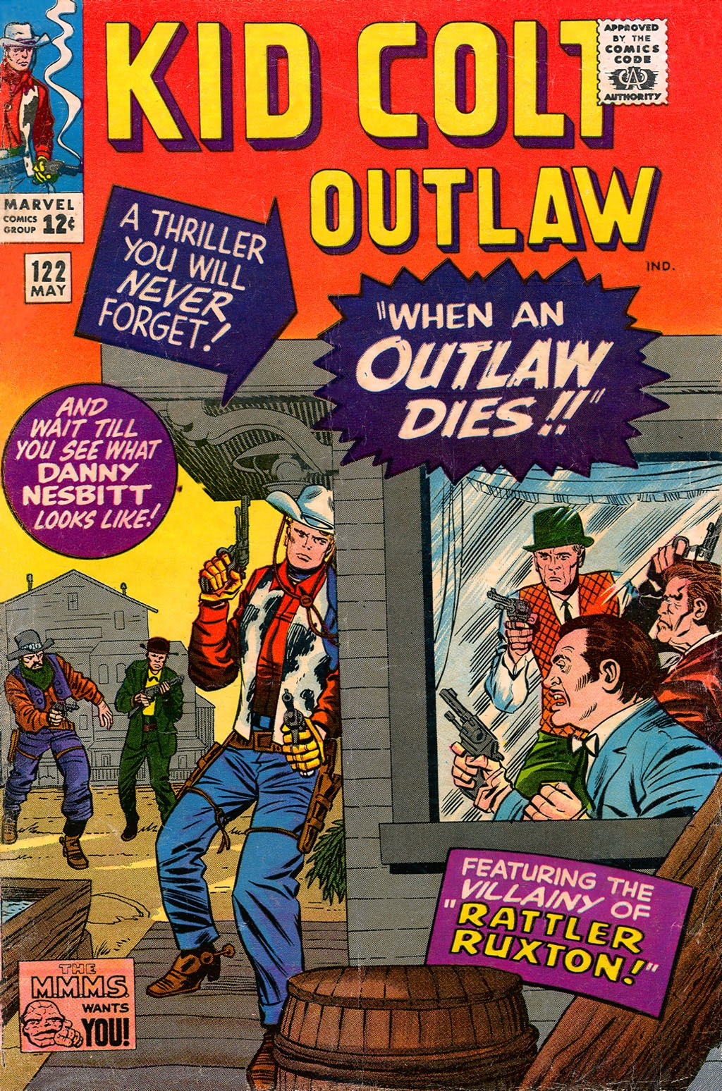 Kid Colt Outlaw issue 122 - Page 1