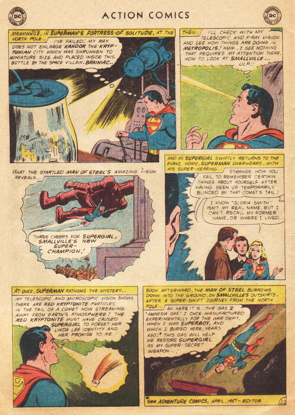 Read online Action Comics (1938) comic -  Issue #265 - 30