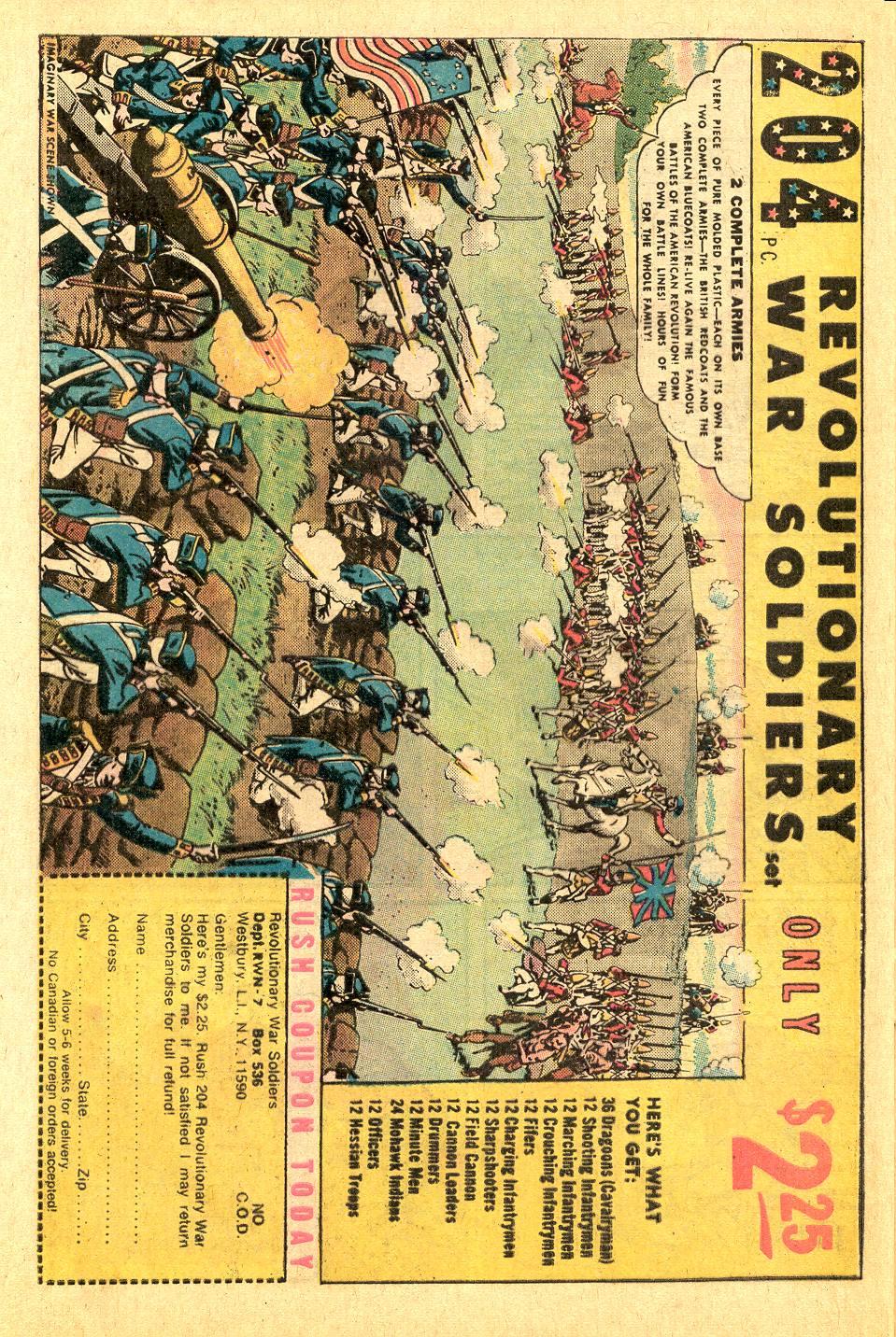 Read online Secret Origins (1973) comic -  Issue #7 - 27