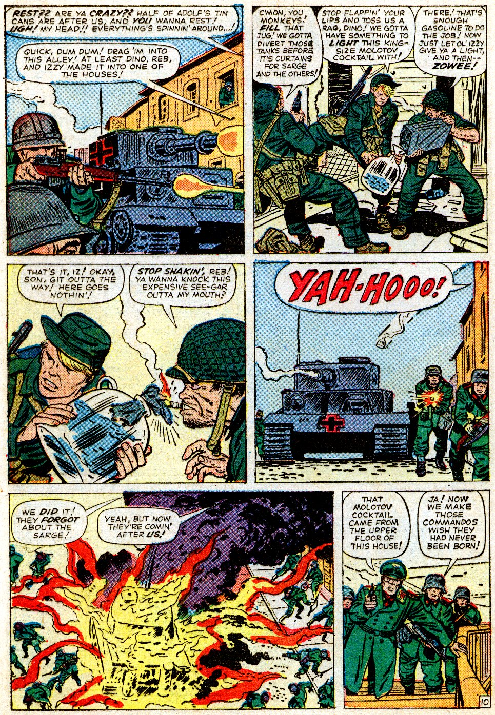 Read online Sgt. Fury comic -  Issue #1 - 16