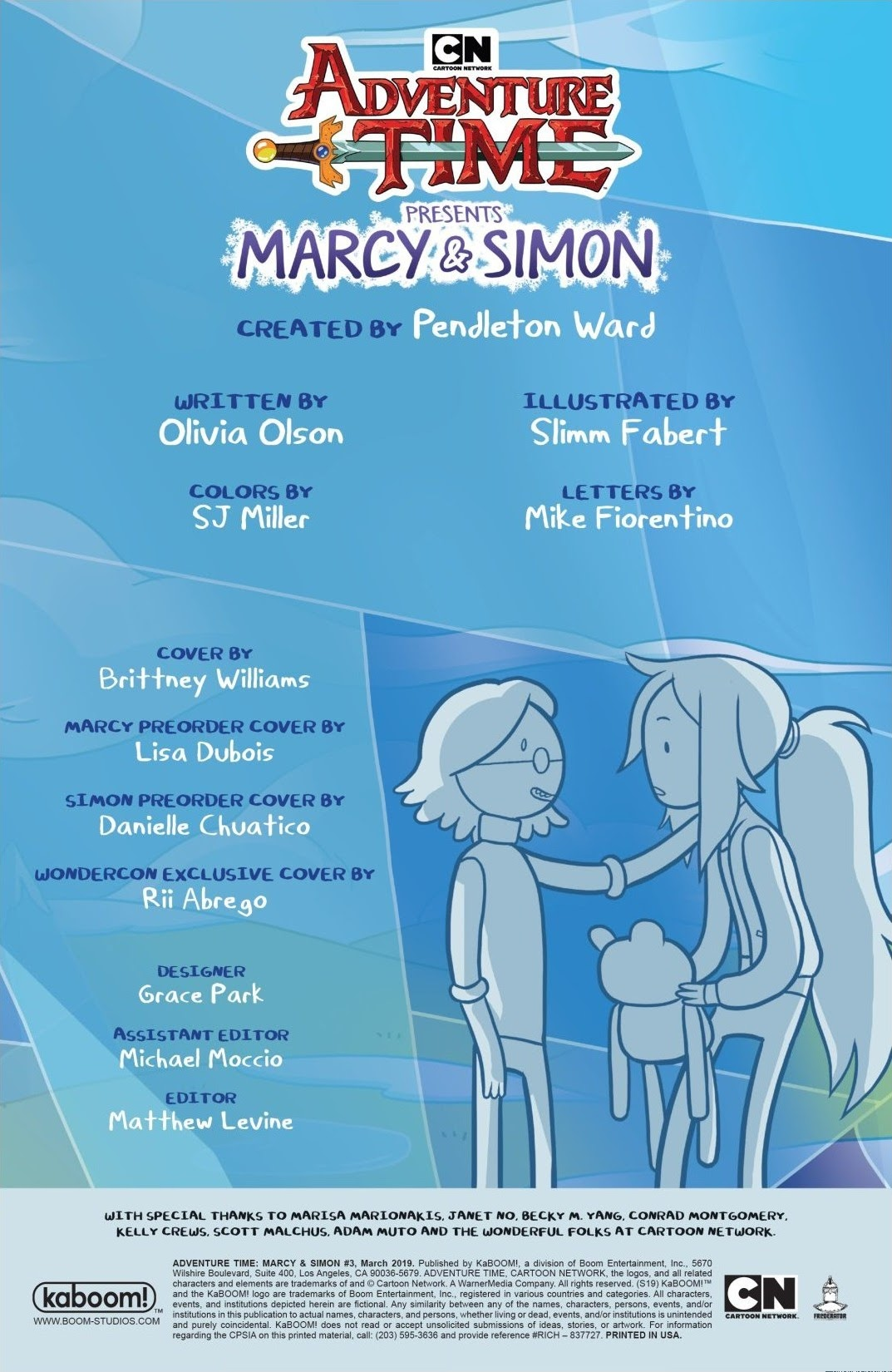 Adventure Time: Marcy & Simon 3 Page 2