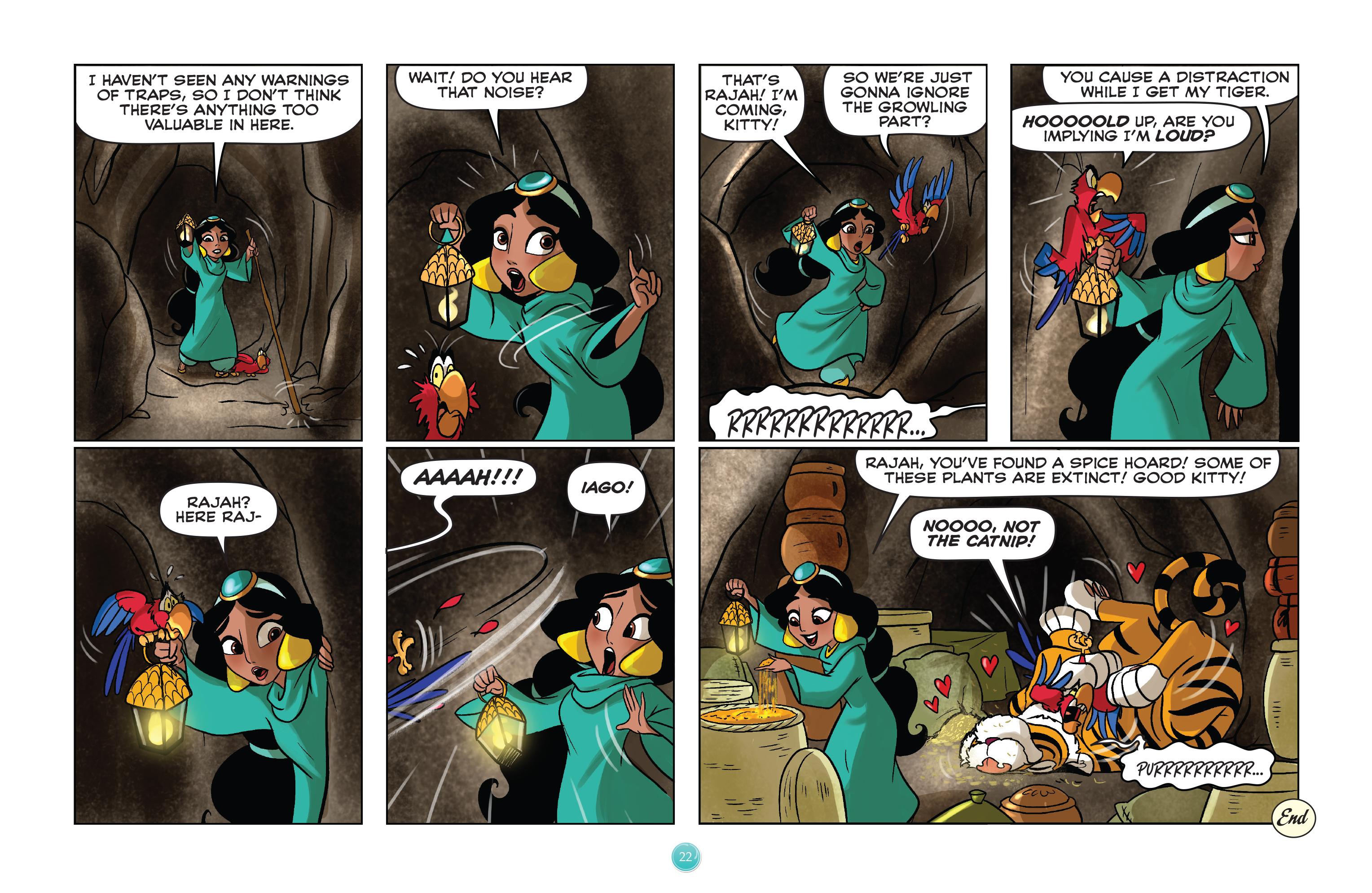 Read online Disney Princess comic -  Issue #8 - 22