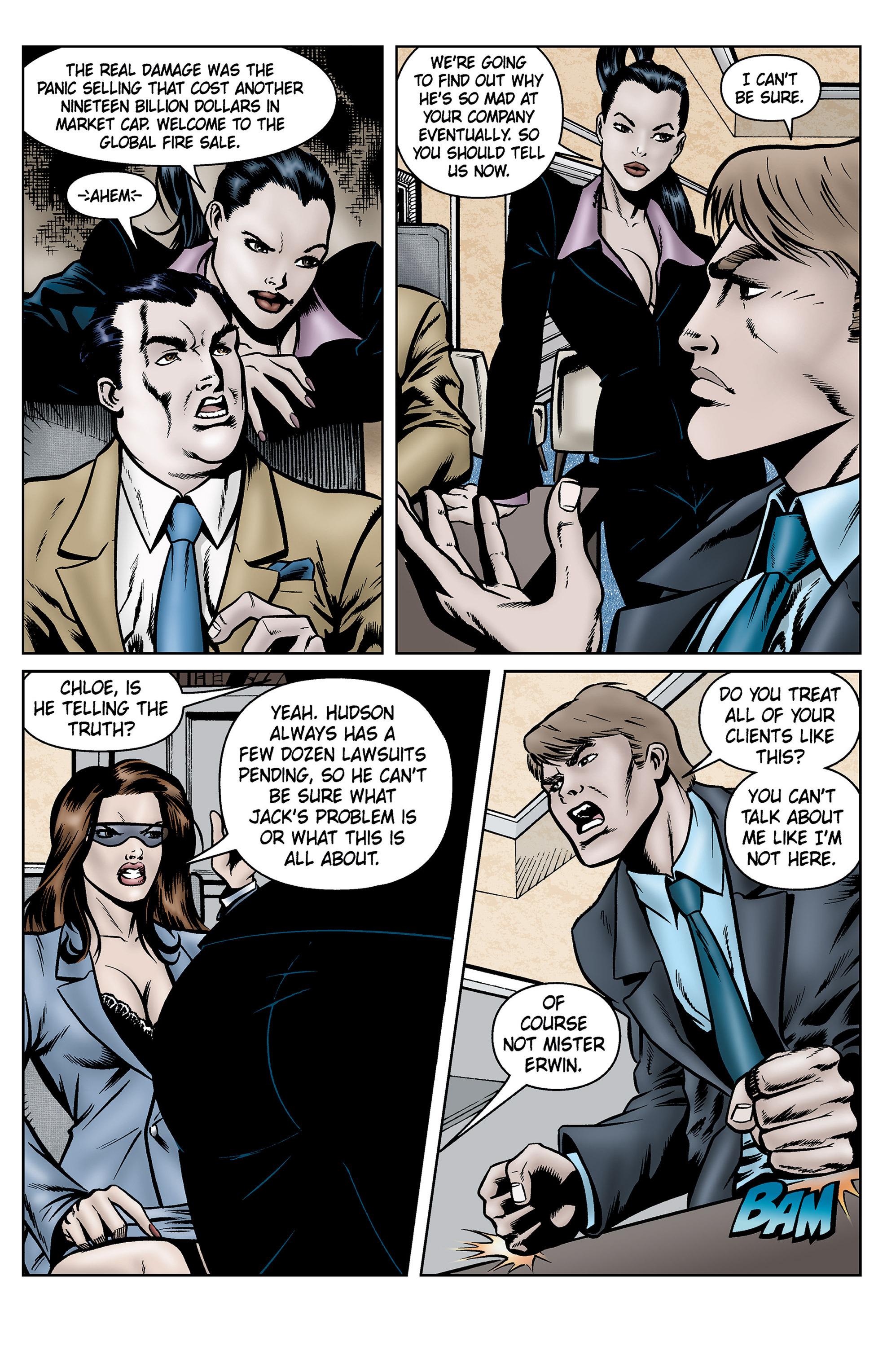 Read online SideChicks comic -  Issue #5 - 28