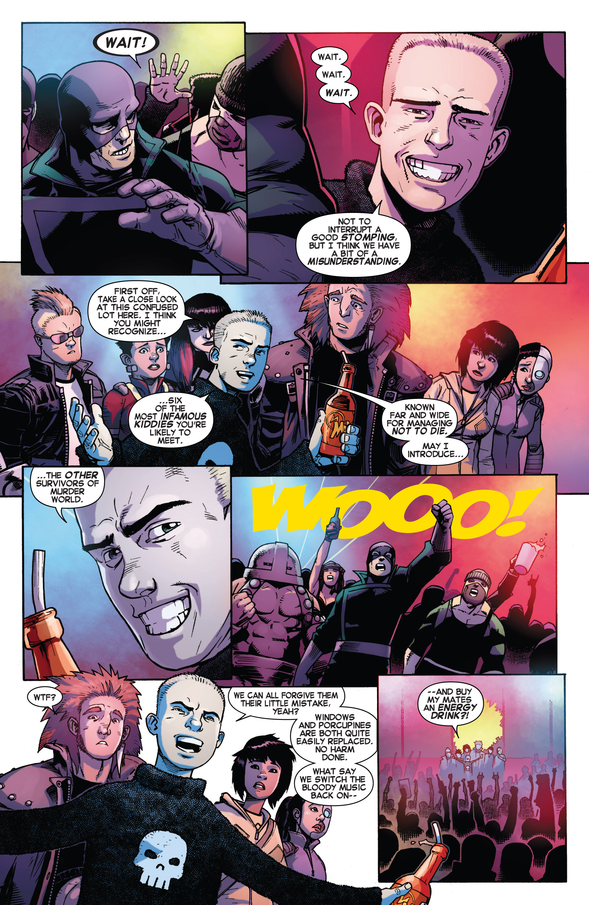 Read online Avengers Undercover comic -  Issue #2 - 9