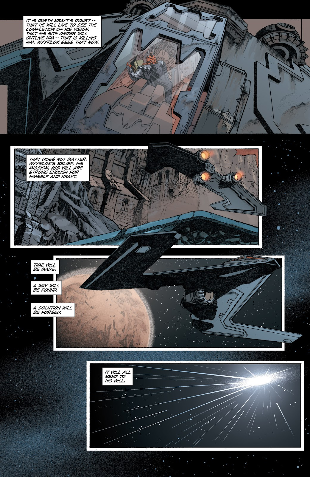 Read online Star Wars Legends: Legacy - Epic Collection comic -  Issue # TPB 2 (Part 1) - 76