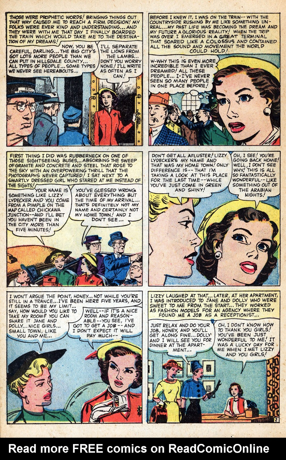 Love Romances (1949) issue 83 - Page 22
