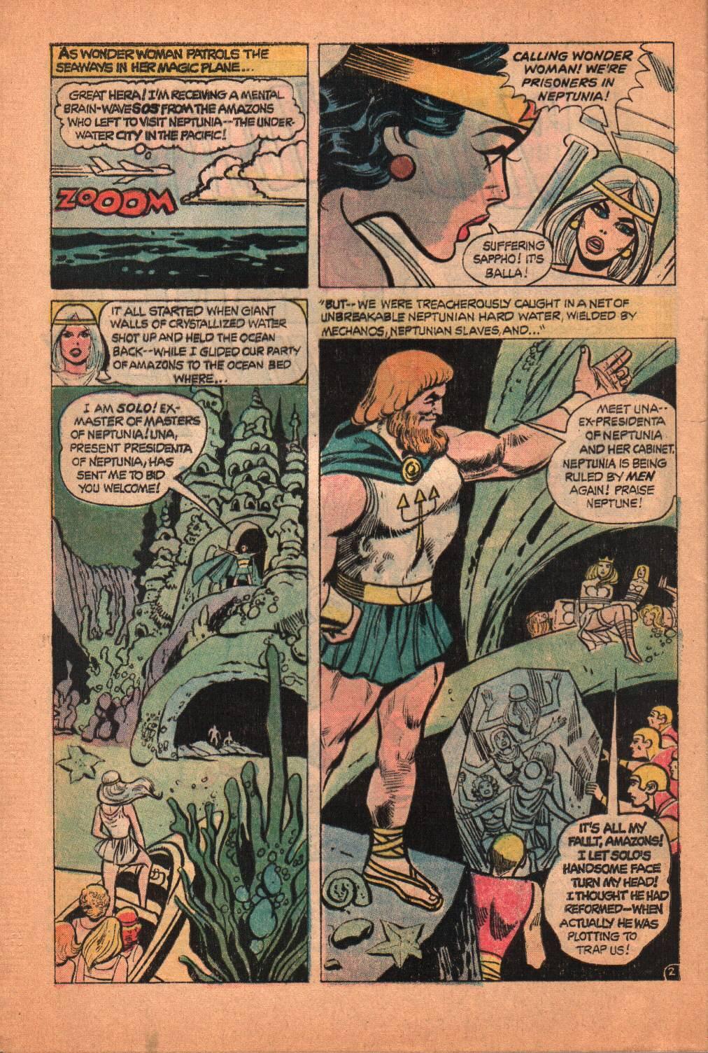 Read online Wonder Woman (1942) comic -  Issue #209 - 4