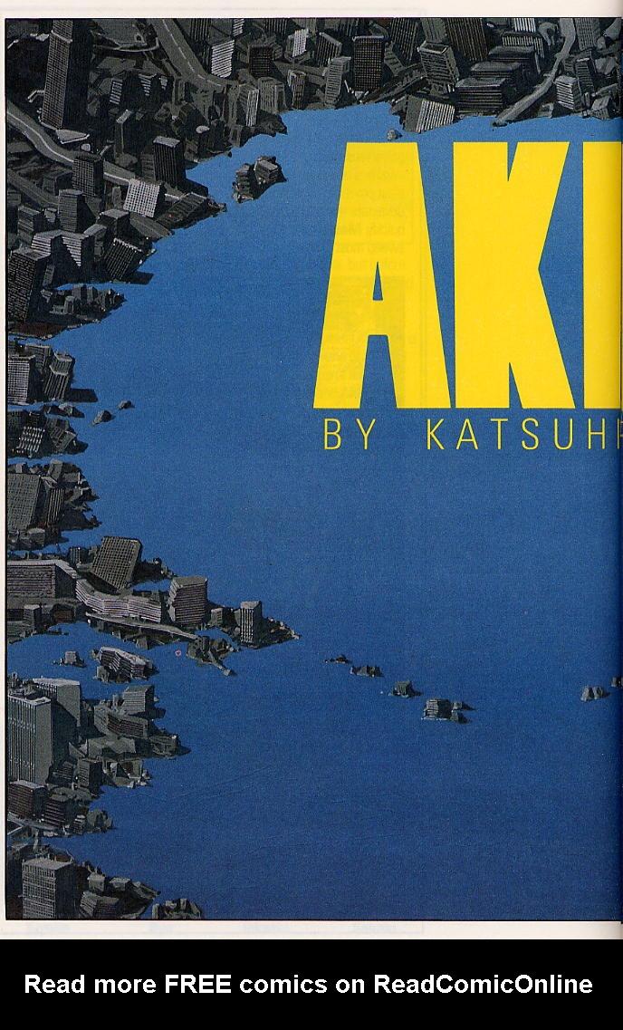 Read online Akira comic -  Issue #17 - 67