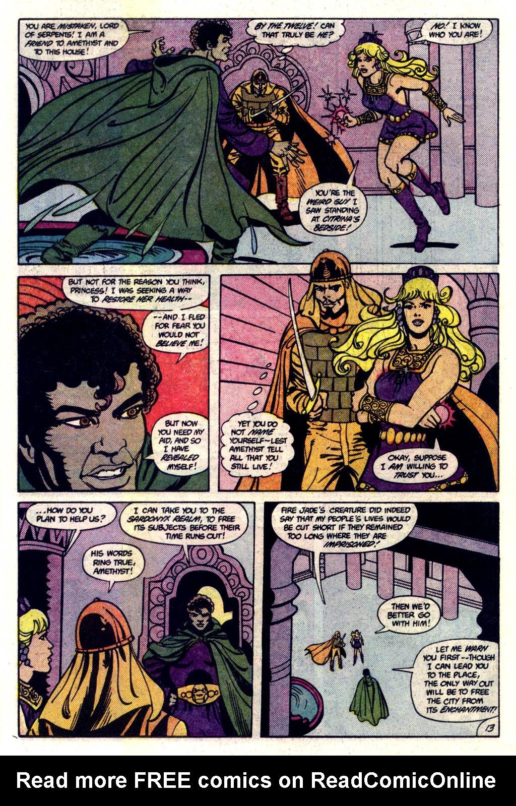 Read online Amethyst (1985) comic -  Issue #6 - 14